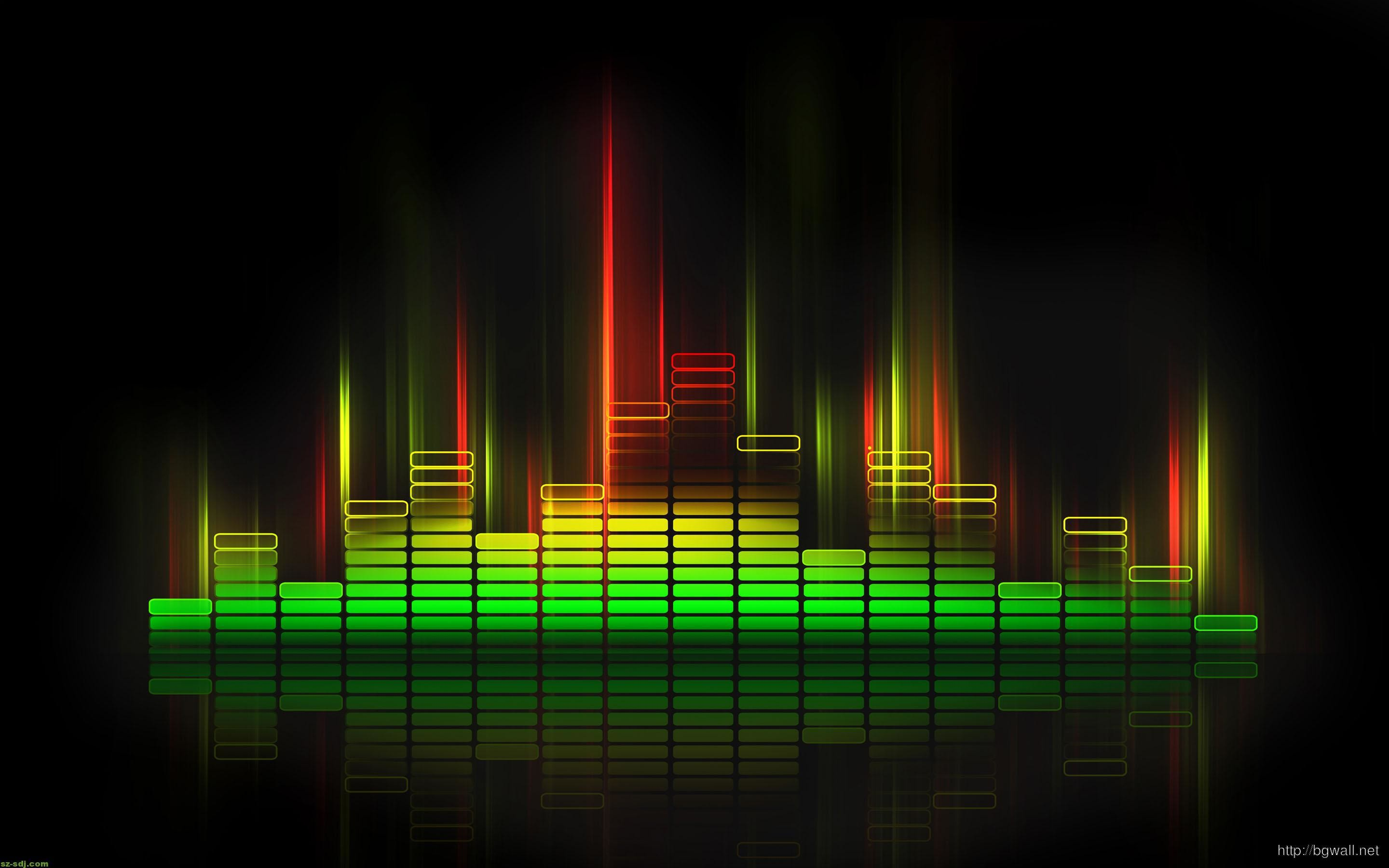 Cool Music Equalizer Desktop Wallpaper Hd