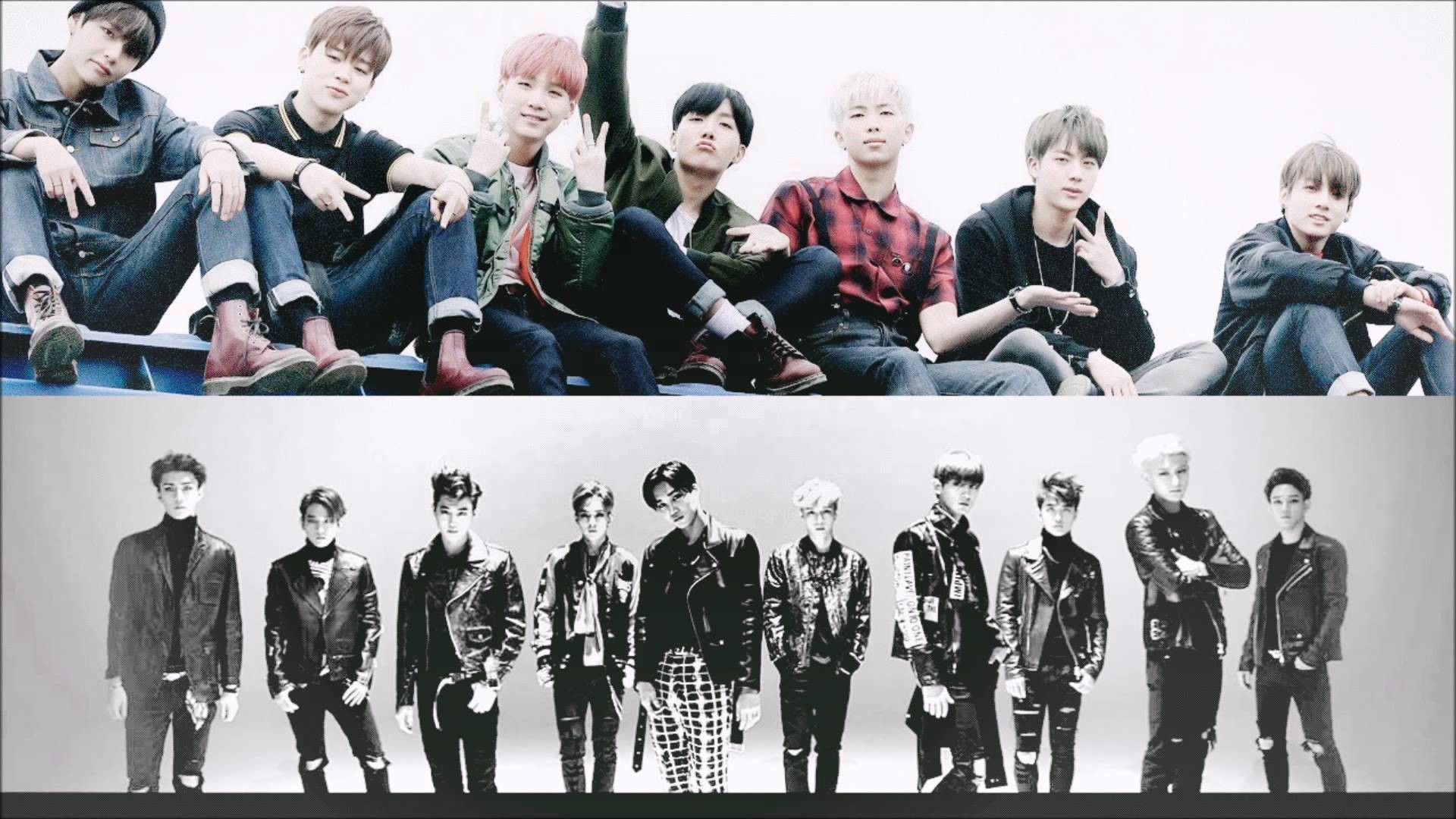 BTS vs. EXO – I Need U, Playboy (mashup / remix)