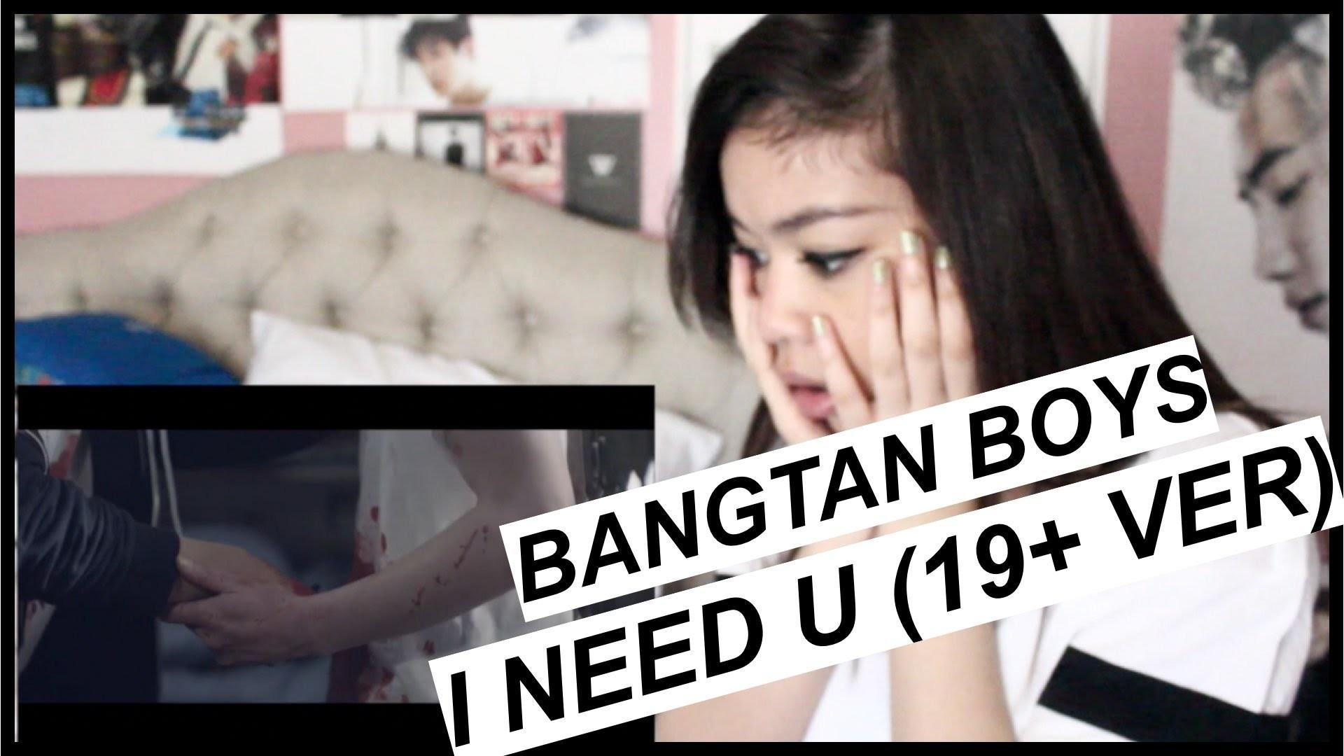 BANGTAN BOYS I NEED U (19+ VERSION) MV REACTION | PARADISELOVEX – YouTube