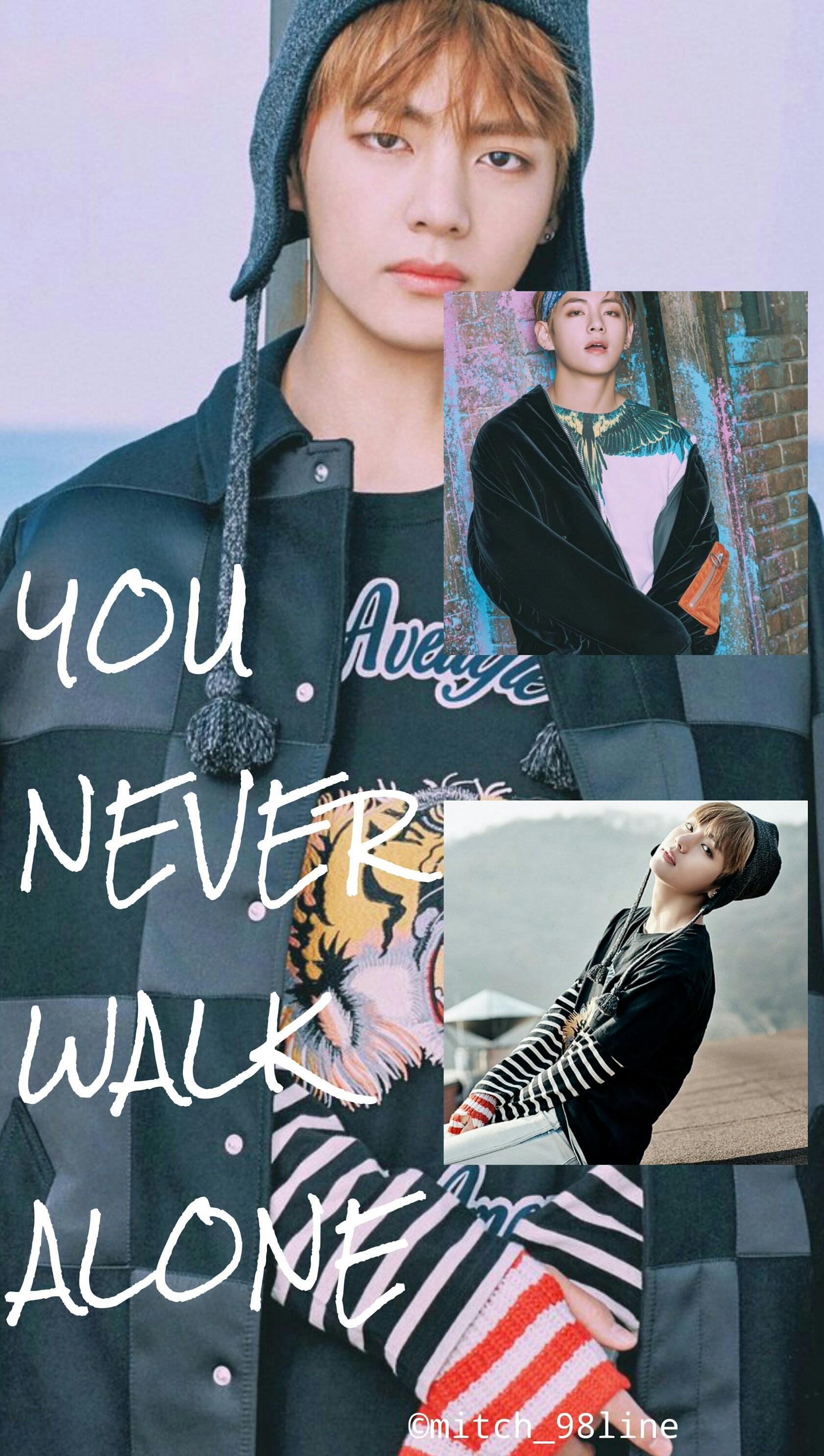 BTS V never walk alone