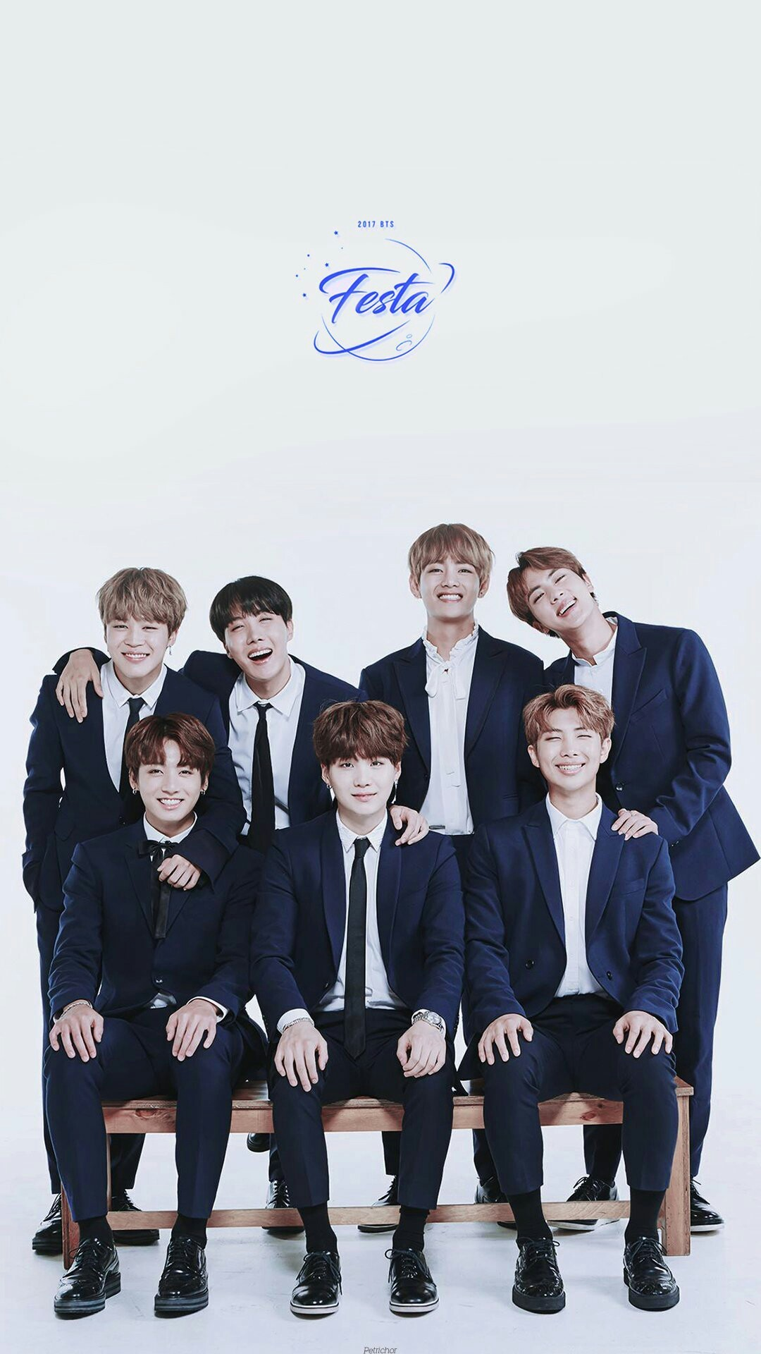 Happy Birthday BTS! #4yearswithBTS cr. Petrichor_twt