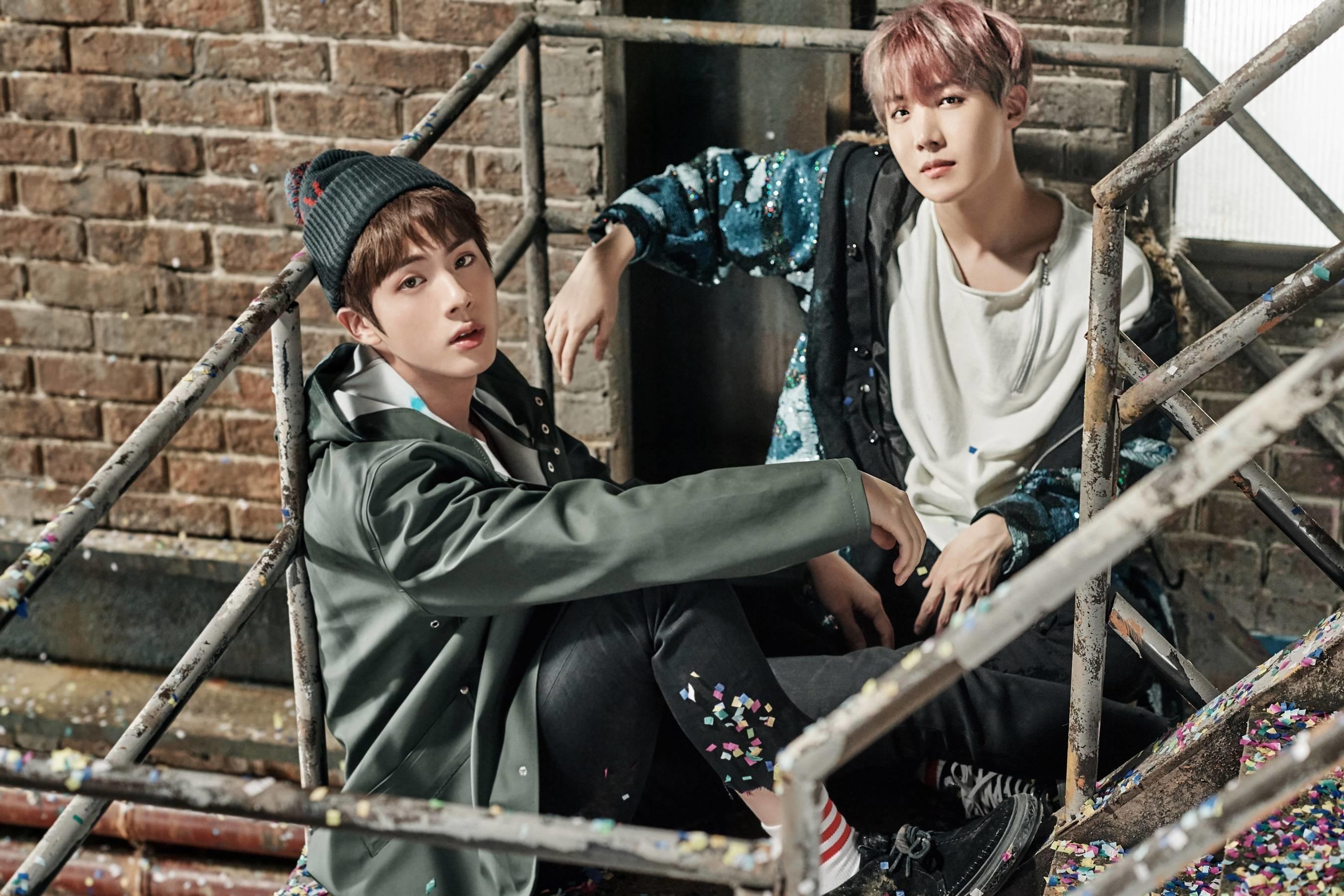 BTS Wings You Never Walk Alone concept photos Seokjin Hoseok