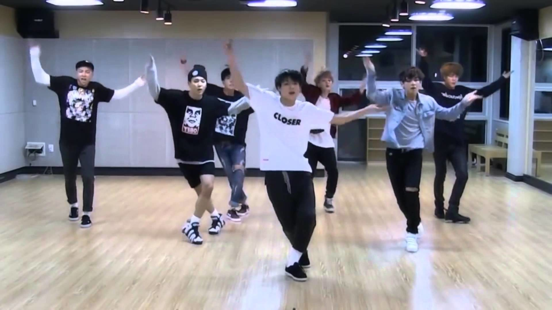 BTS I Need You Dance Practice Mirrored + Slowed