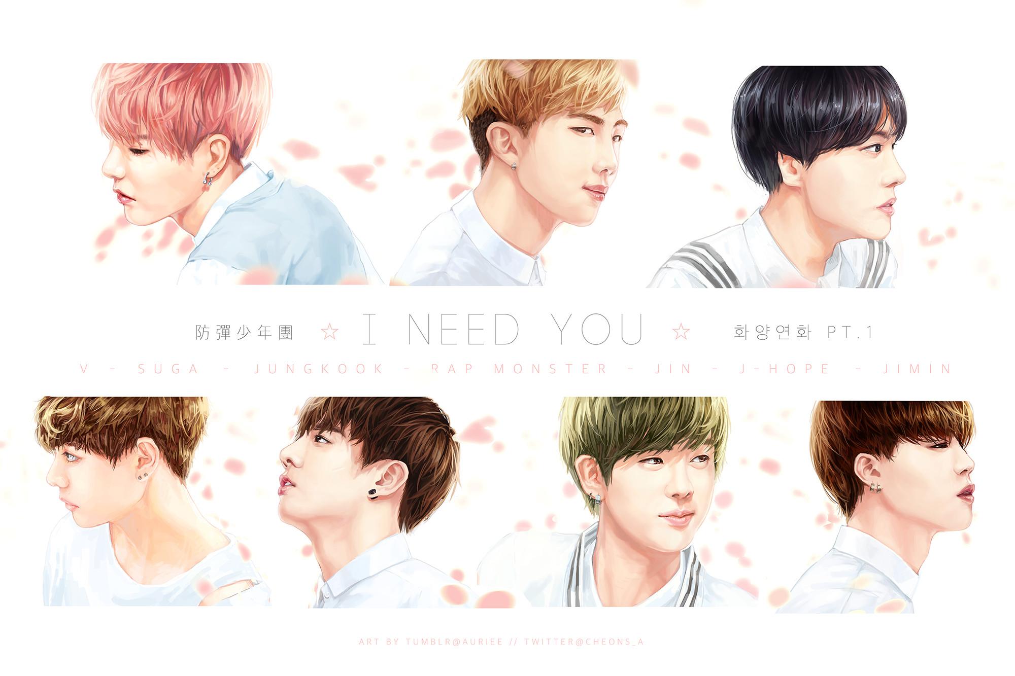 … I NEED U : HYYH pt.1 series by Aureta