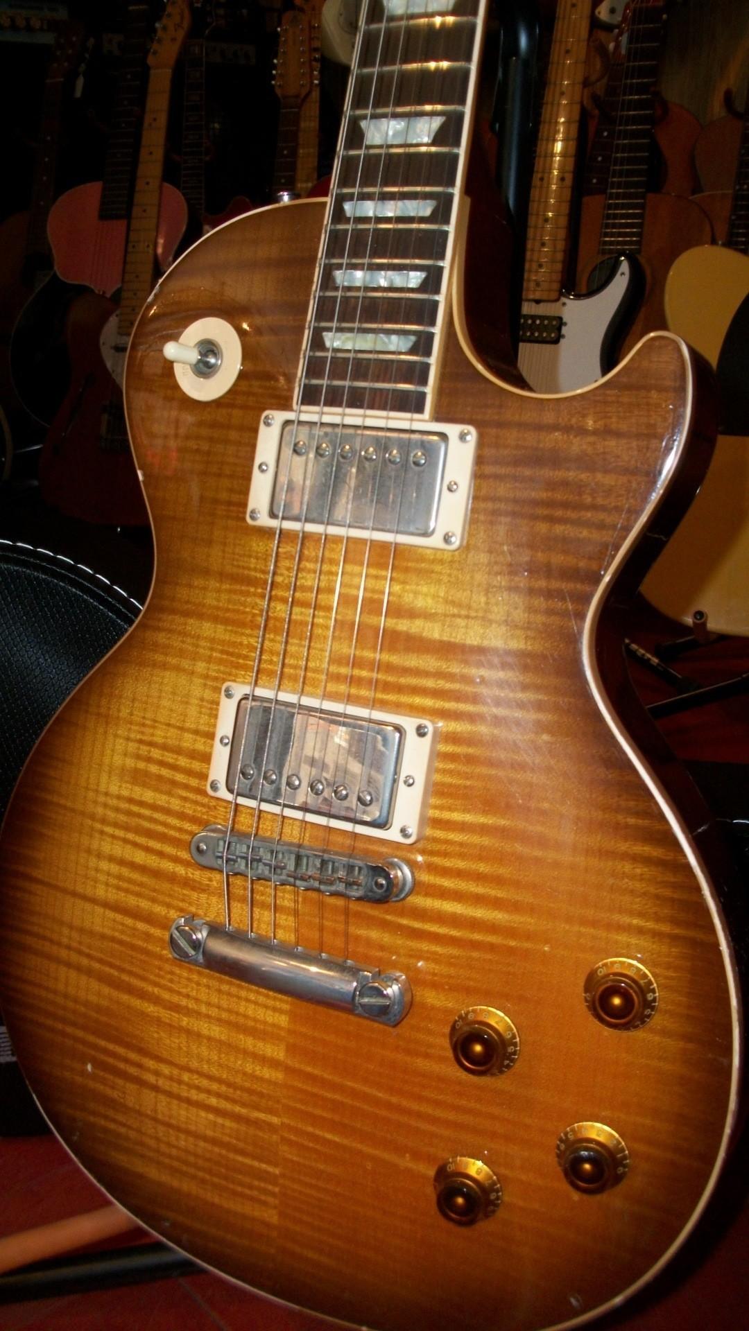 Old Electric Guitar iPhone 6 Plus HD Wallpaper …