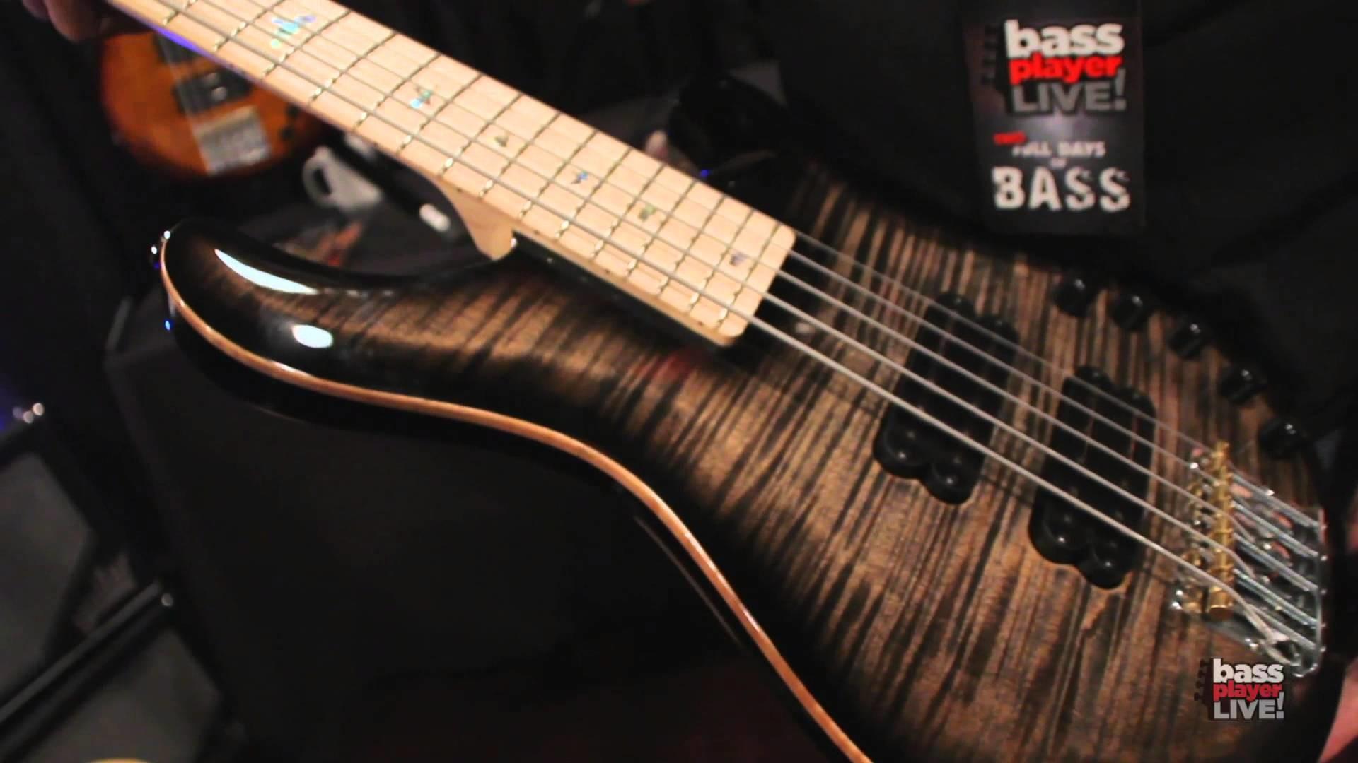 PRS Guitars at Bass Player LIVE! 2013