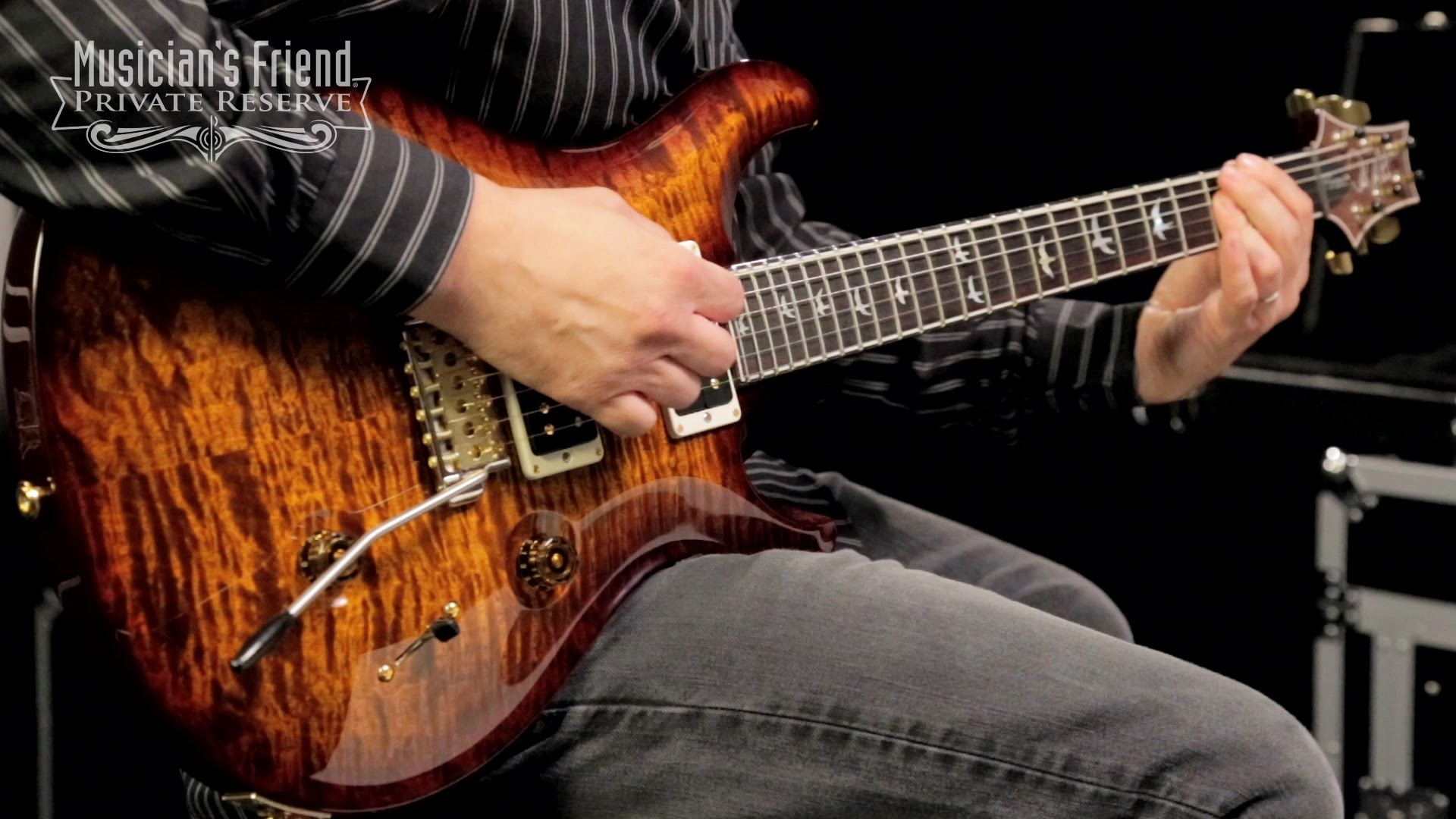 PRS 30th Anniversary Custom 24 Quilted Maple 10 Top Electric Guitar –  YouTube