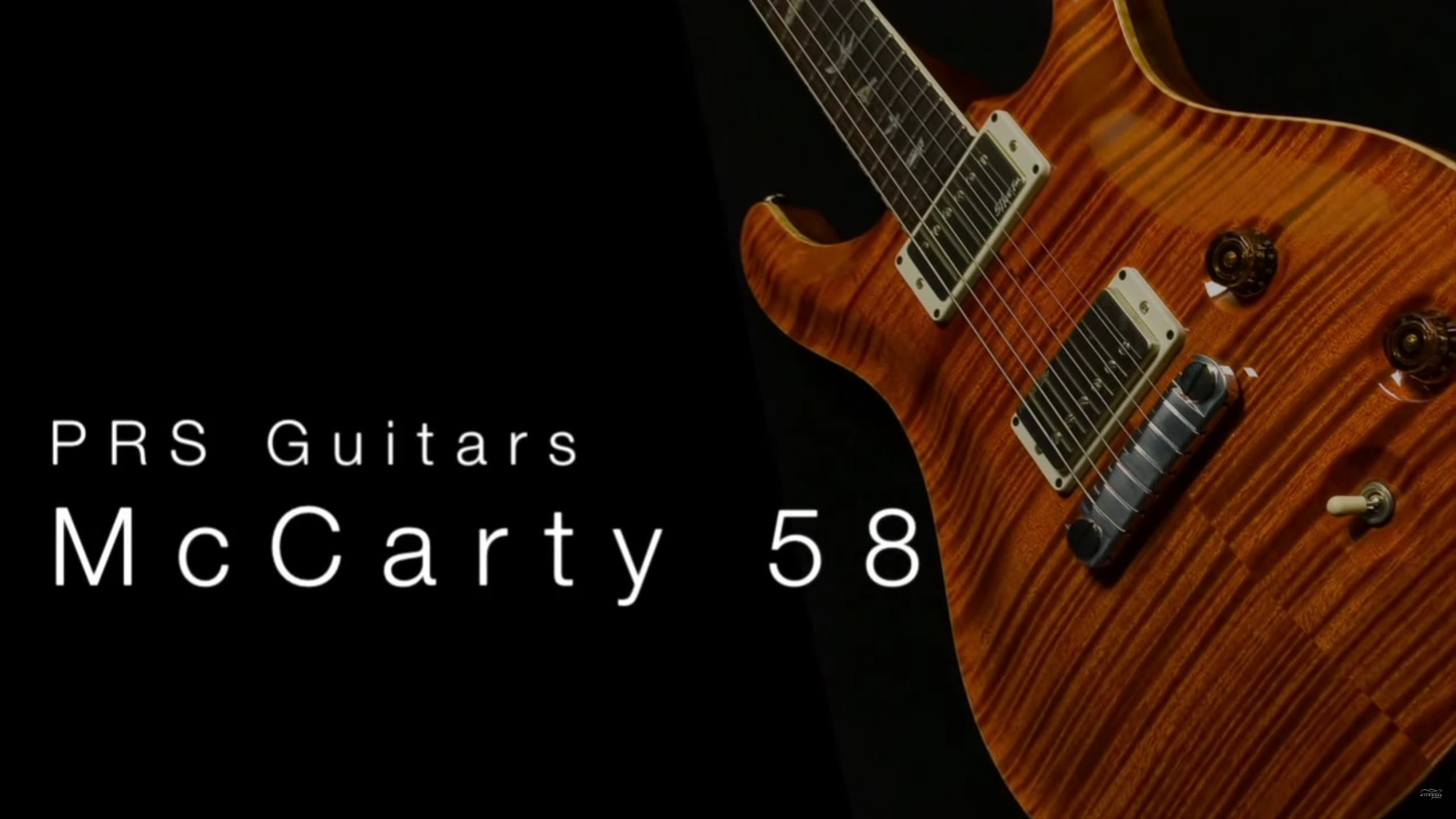 PRS McCarty 58 • Wildwood Guitars Overview
