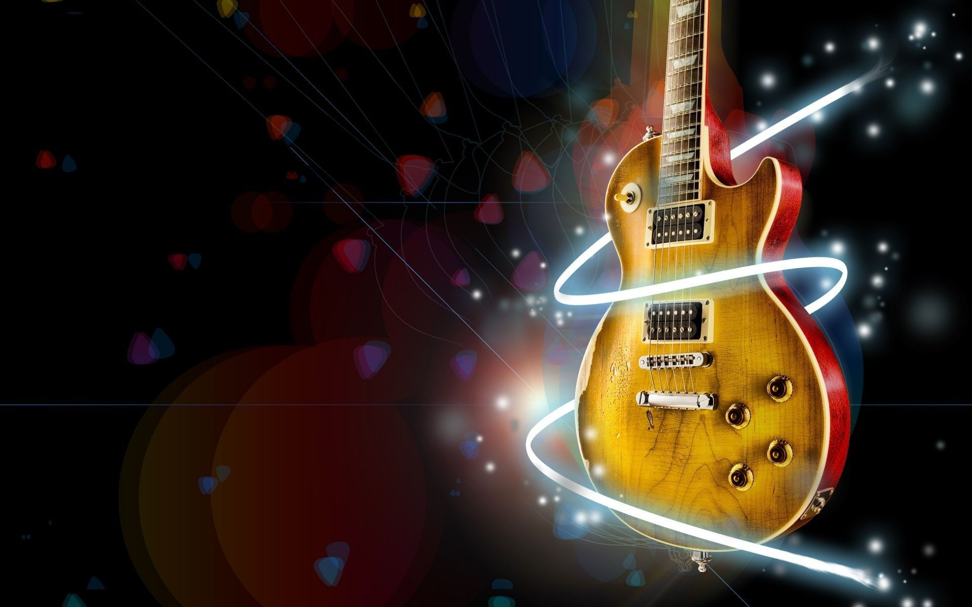 Free Wallpaper For Computers Gibson Guitar Wallpaper photos of .