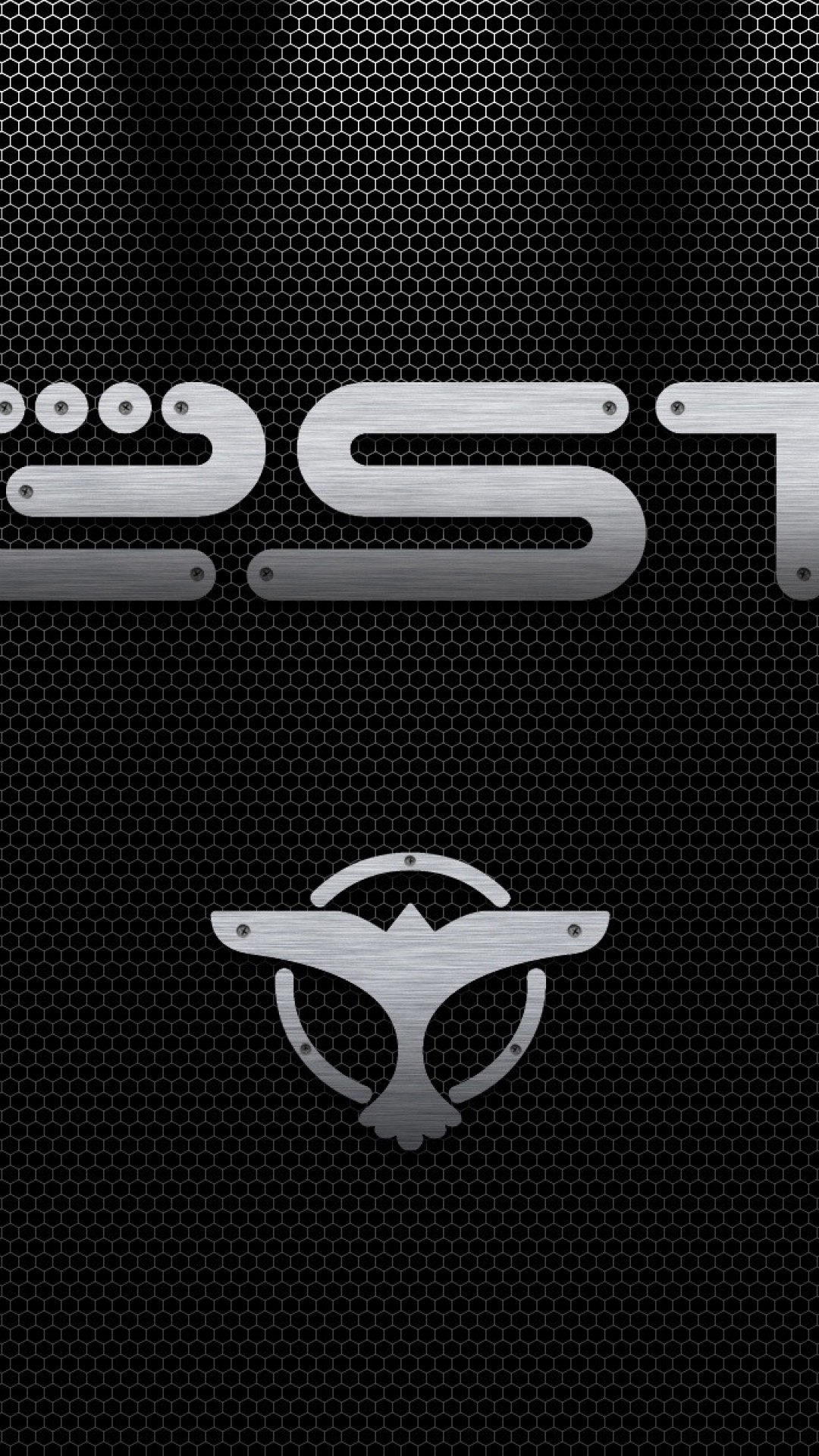 Wallpaper dj tiesto, logo, letters, bird, background