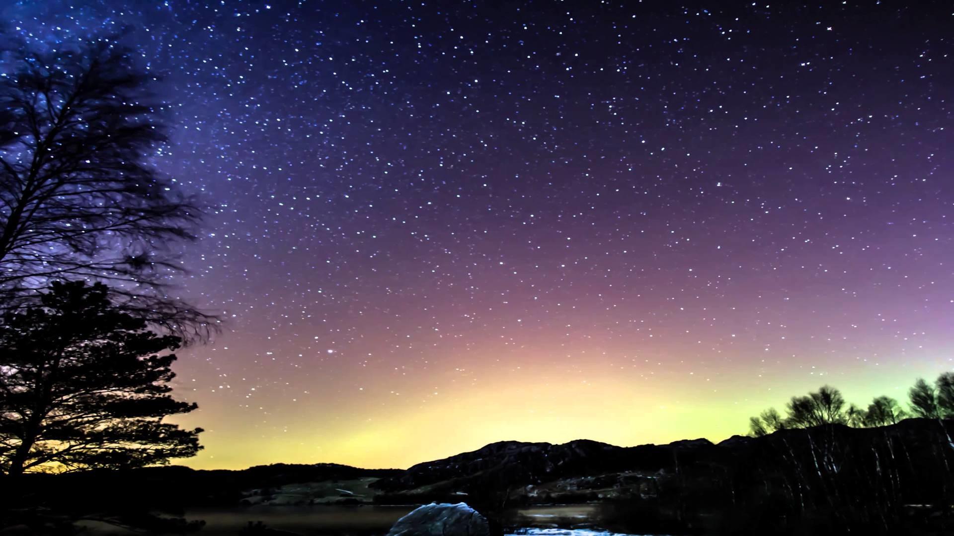 4K: Timelapse compilation of stars, Aurora Borealis and Milkyway – YouTube