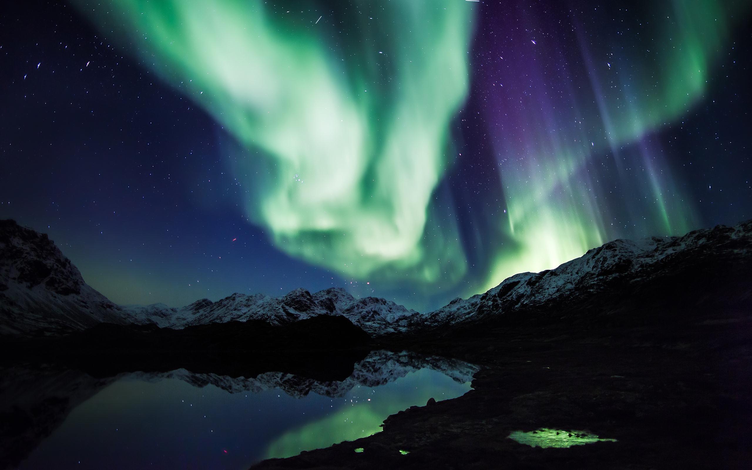 Awesome Polar Lights Wallpaper 5061