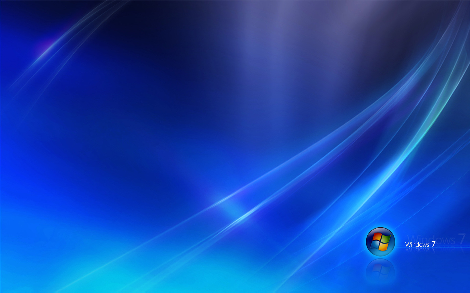 Computers – Windows 7 Aurora Blue Wallpaper – Free Desktop .