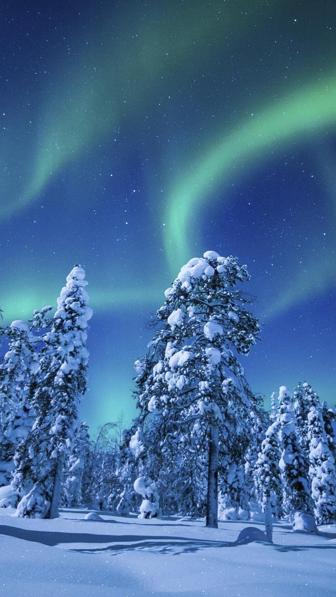 wallpaper.wiki-Picture-of-Aurora-Borealis-for-Mobile-