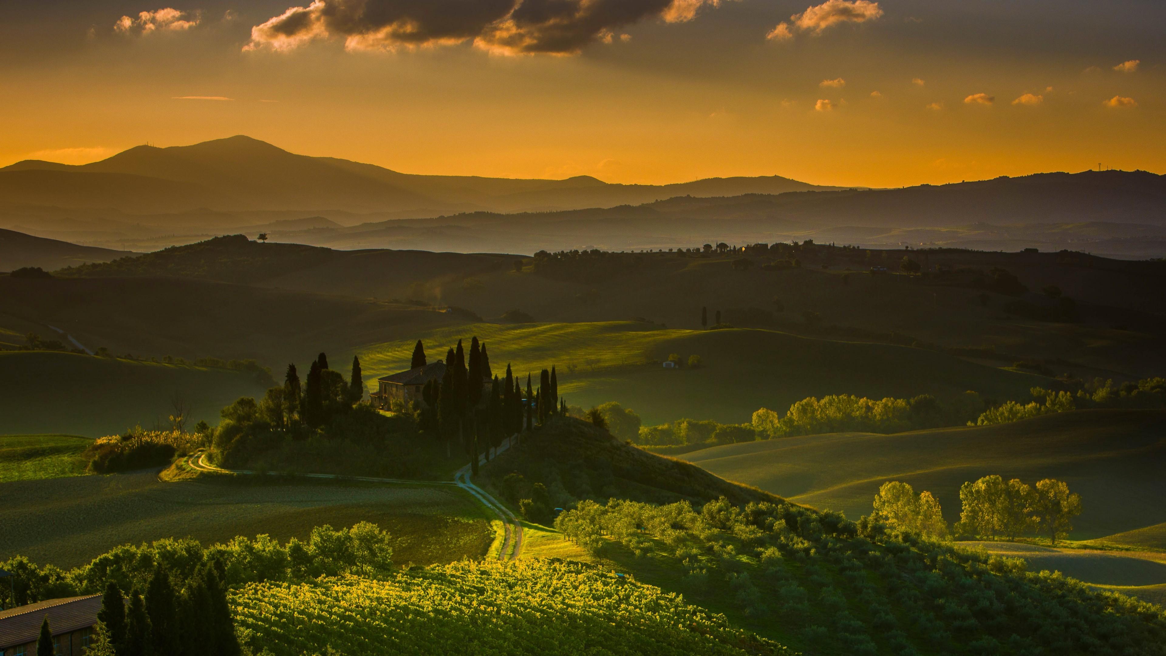 Nature / Tuscany Wallpaper
