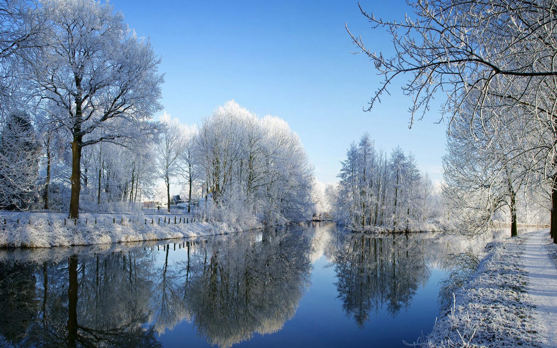 winter desktop wallpapers background keyword nature 1920×1200