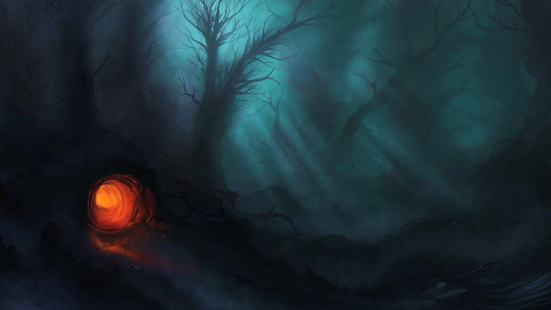 Creepy Forest Wallpaper – WallpaperSafari