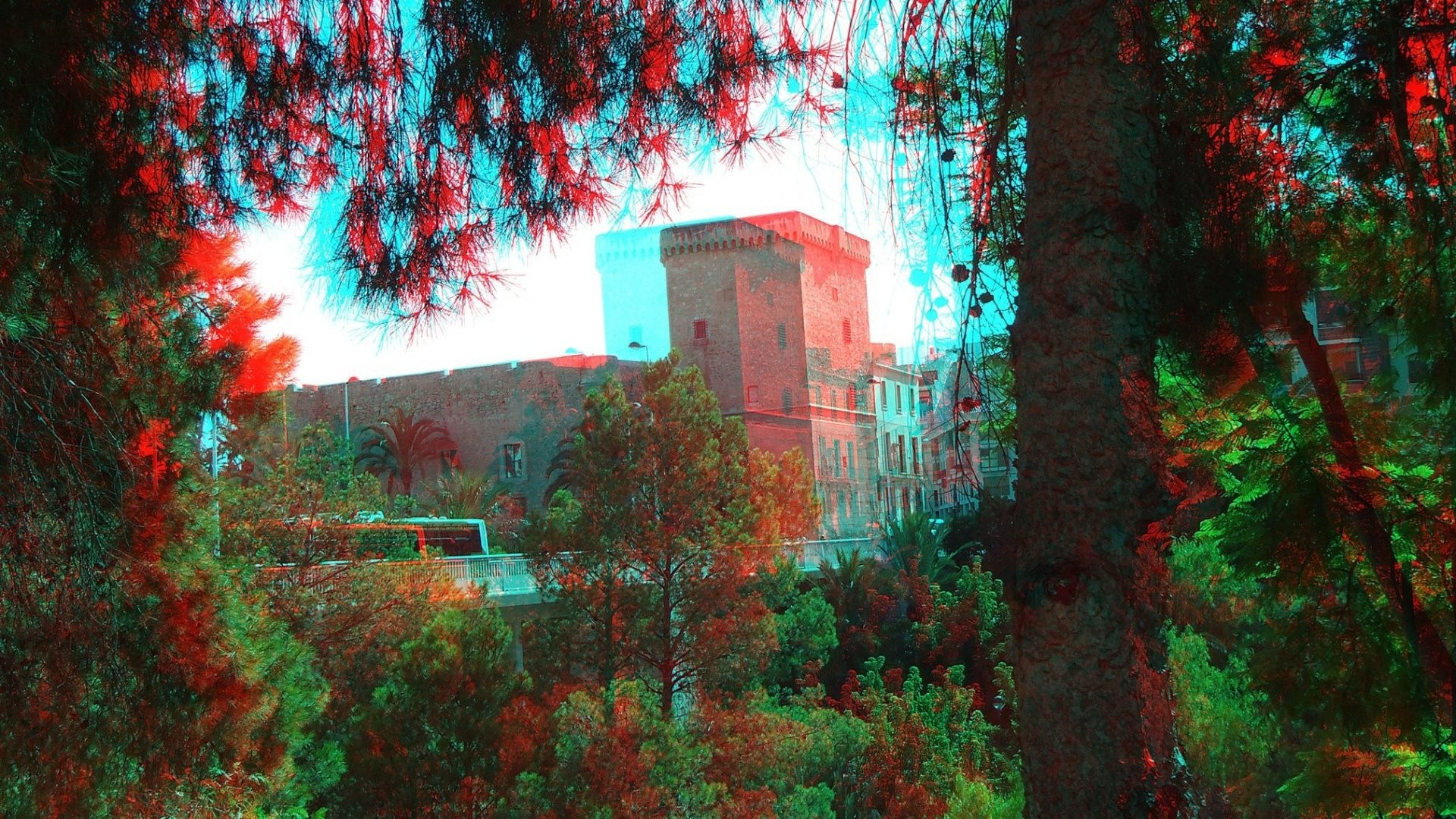 November 4, 2016 – Glasses Anaglyph Cars Nature Good Evening Wallpapers for  HD 16: