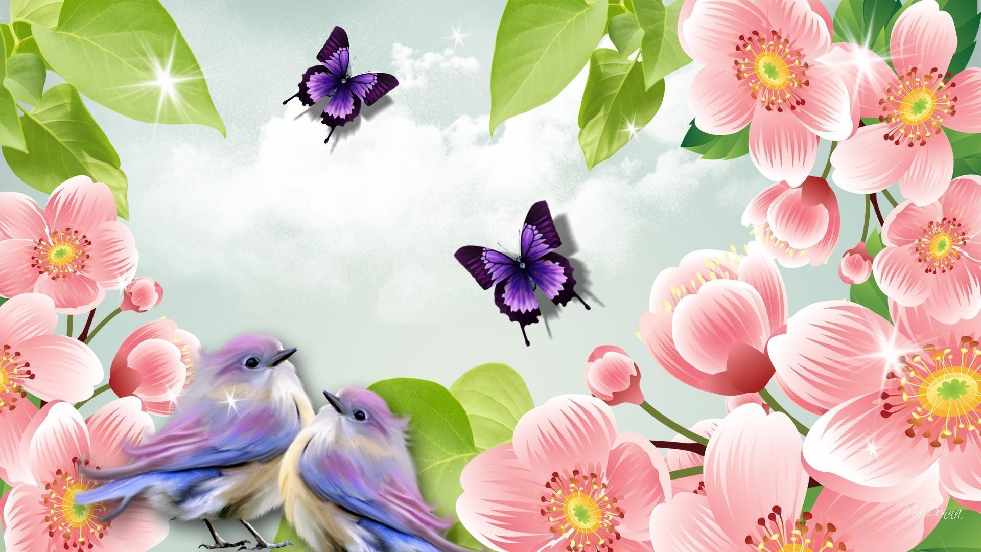 Spring Summer HD desktop wallpaper : Widescreen : High Definition .