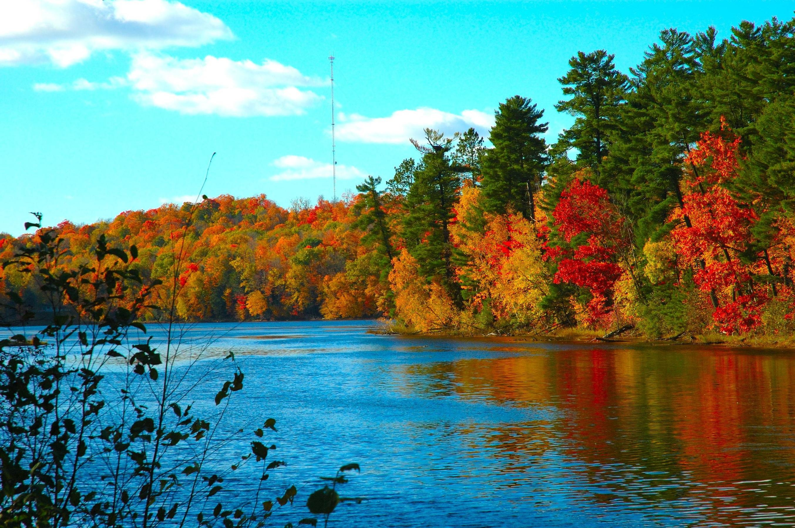 Autumn Landscapes ☆ Wallpapers: colorful fall landscapes computer desktop wallpaper  backgrounds: wallpapers of landscapes from across American countryside …