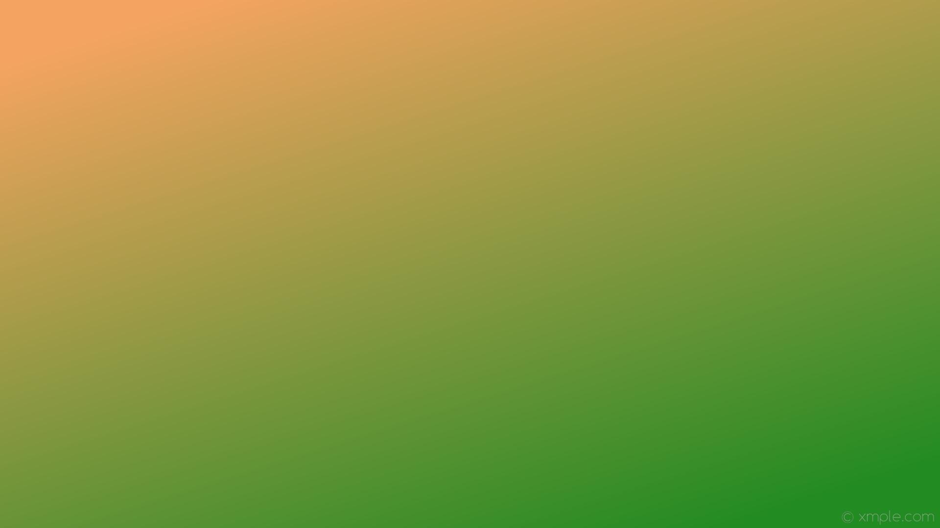 wallpaper linear brown green gradient sandy brown forest green #f4a460  #228b22 135°