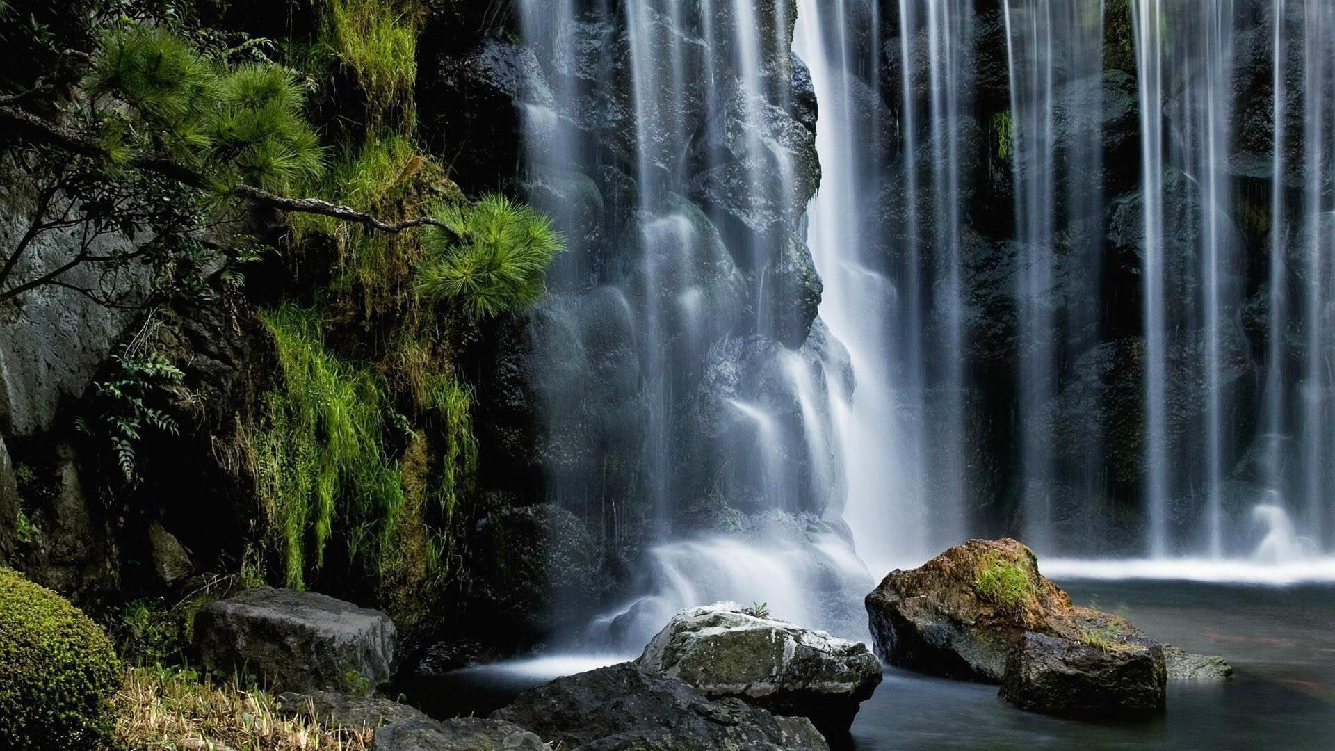 windows wallpapers wallpaper nature waterfall – Nature . …