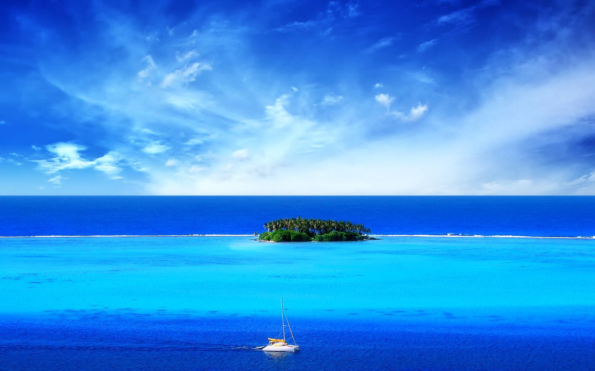 Perfect Island wallpaper for your