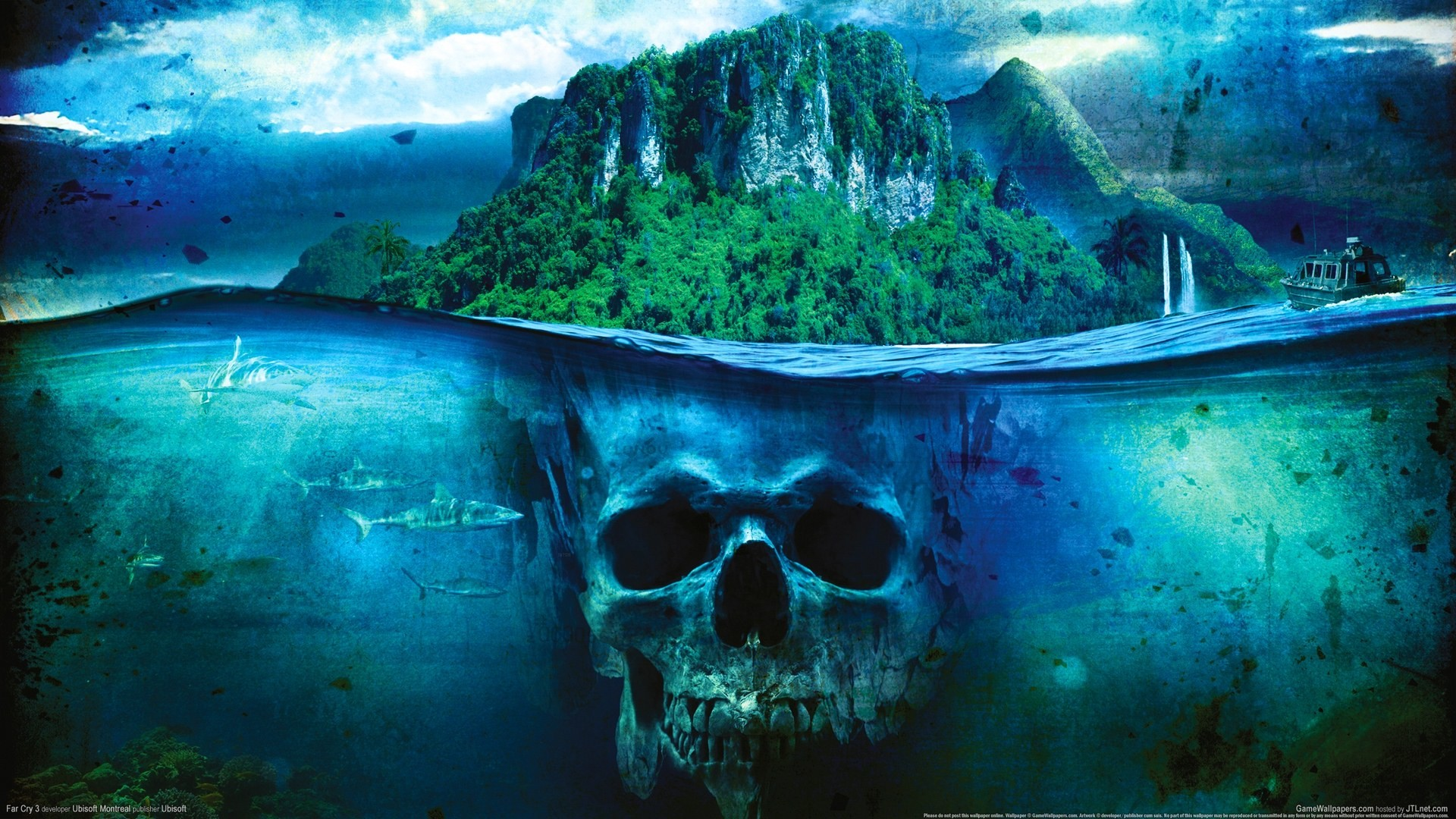 To Download or Set this Free Skull Island Wallpaper as the Desktop  Background Image for your