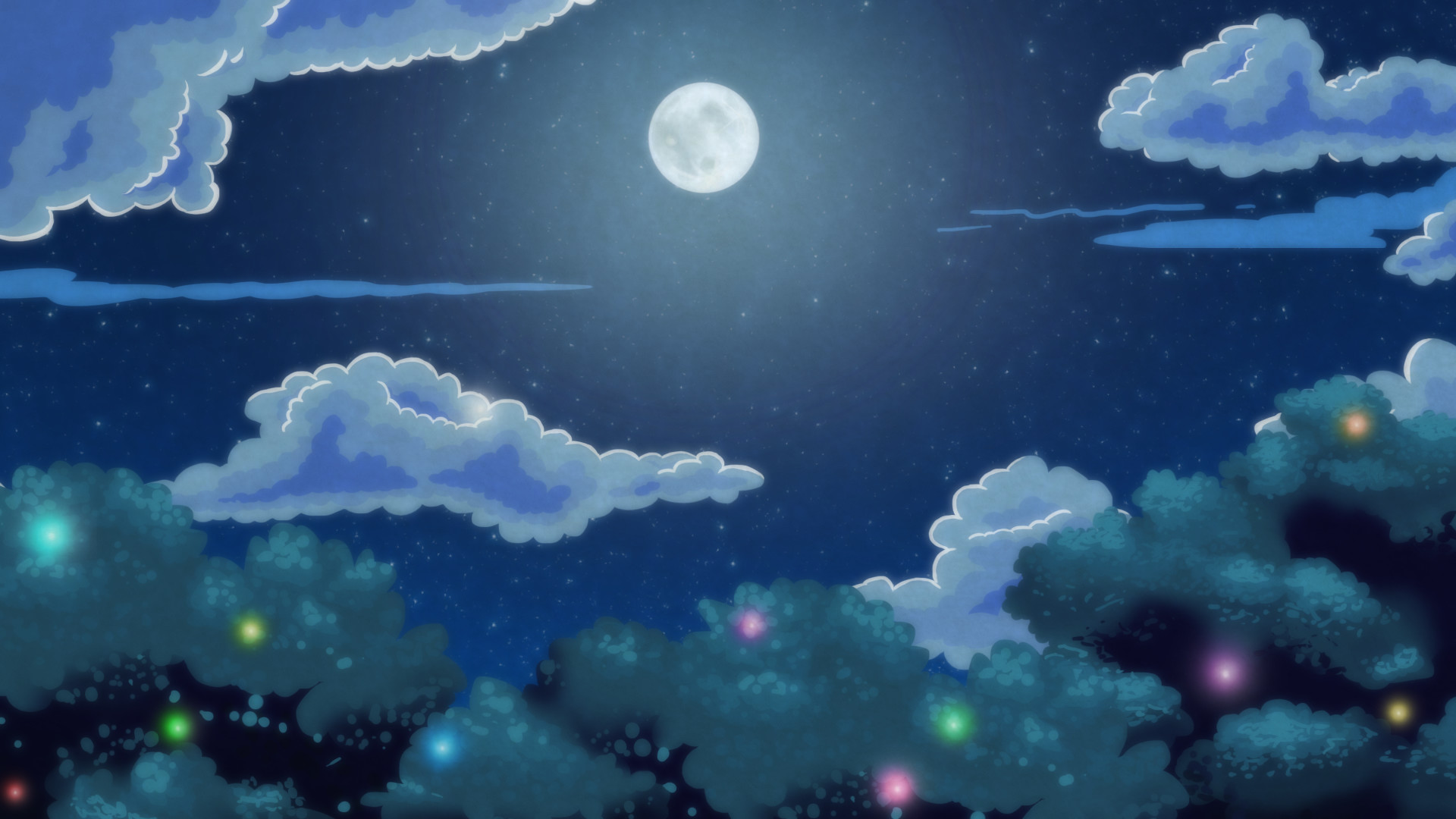Night Forest by alliaxandromeda Night Forest by alliaxandromeda