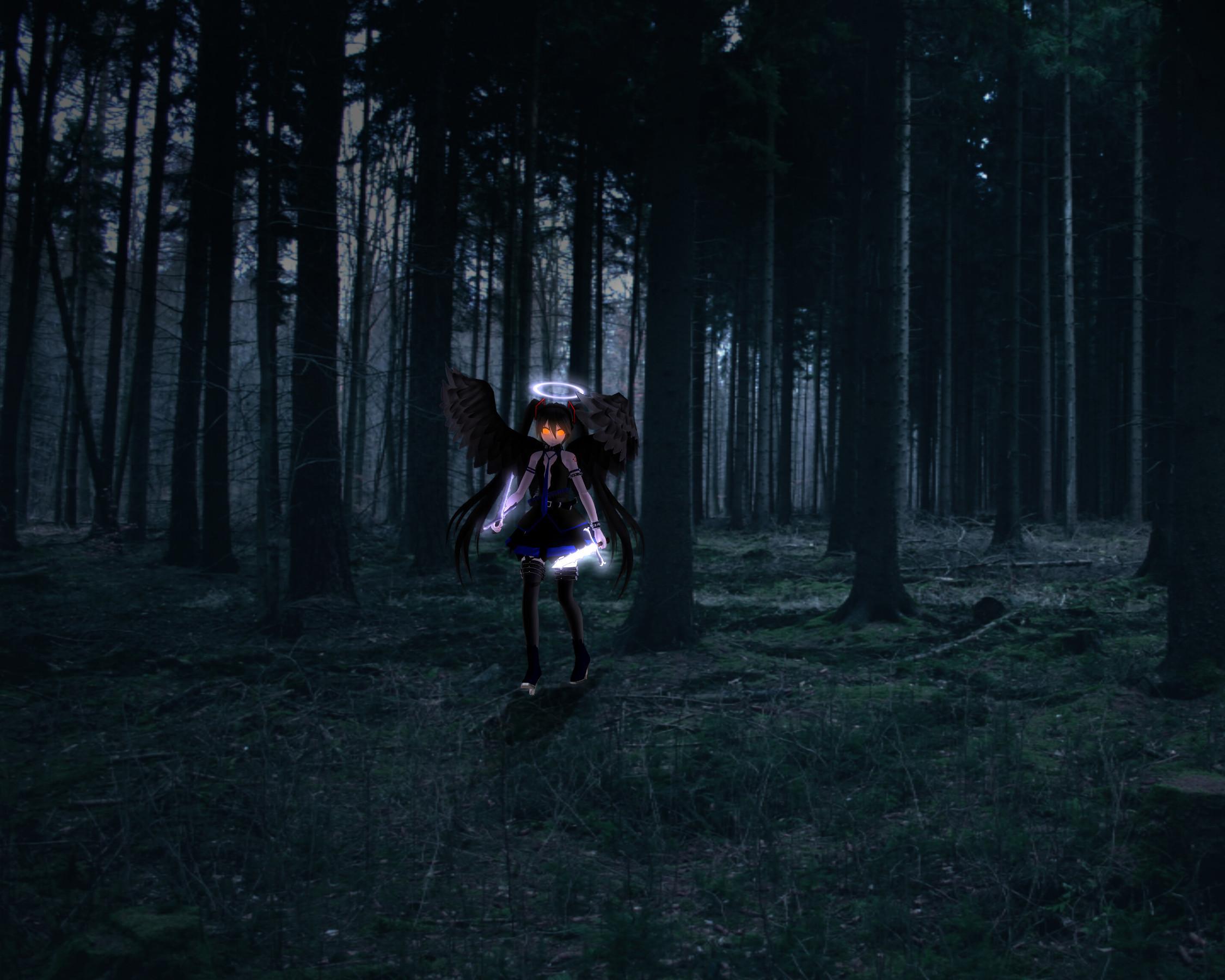 … HandofCreation0 Dark Forest Protector [MME] by HandofCreation0