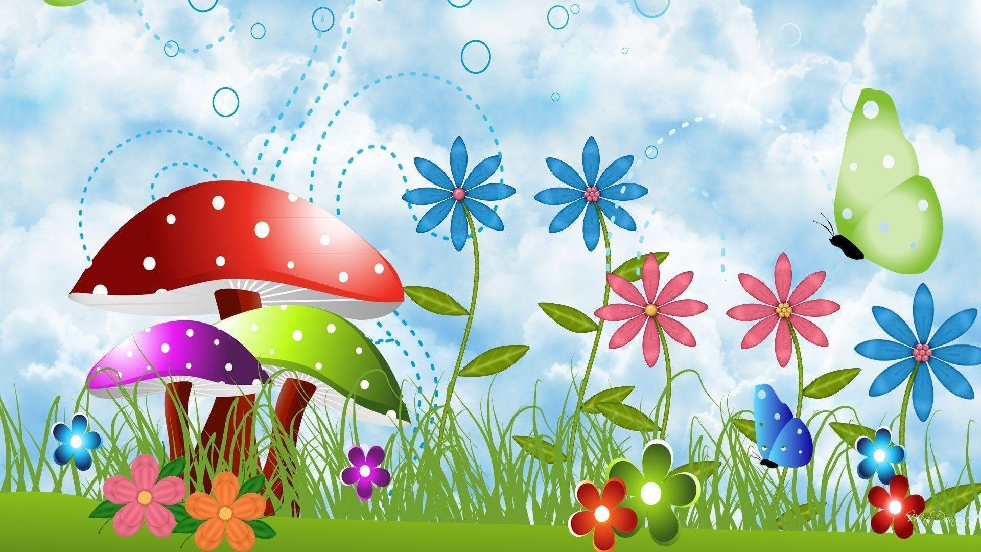 Free Spring Desktop Wallpaper — Crafthubs
