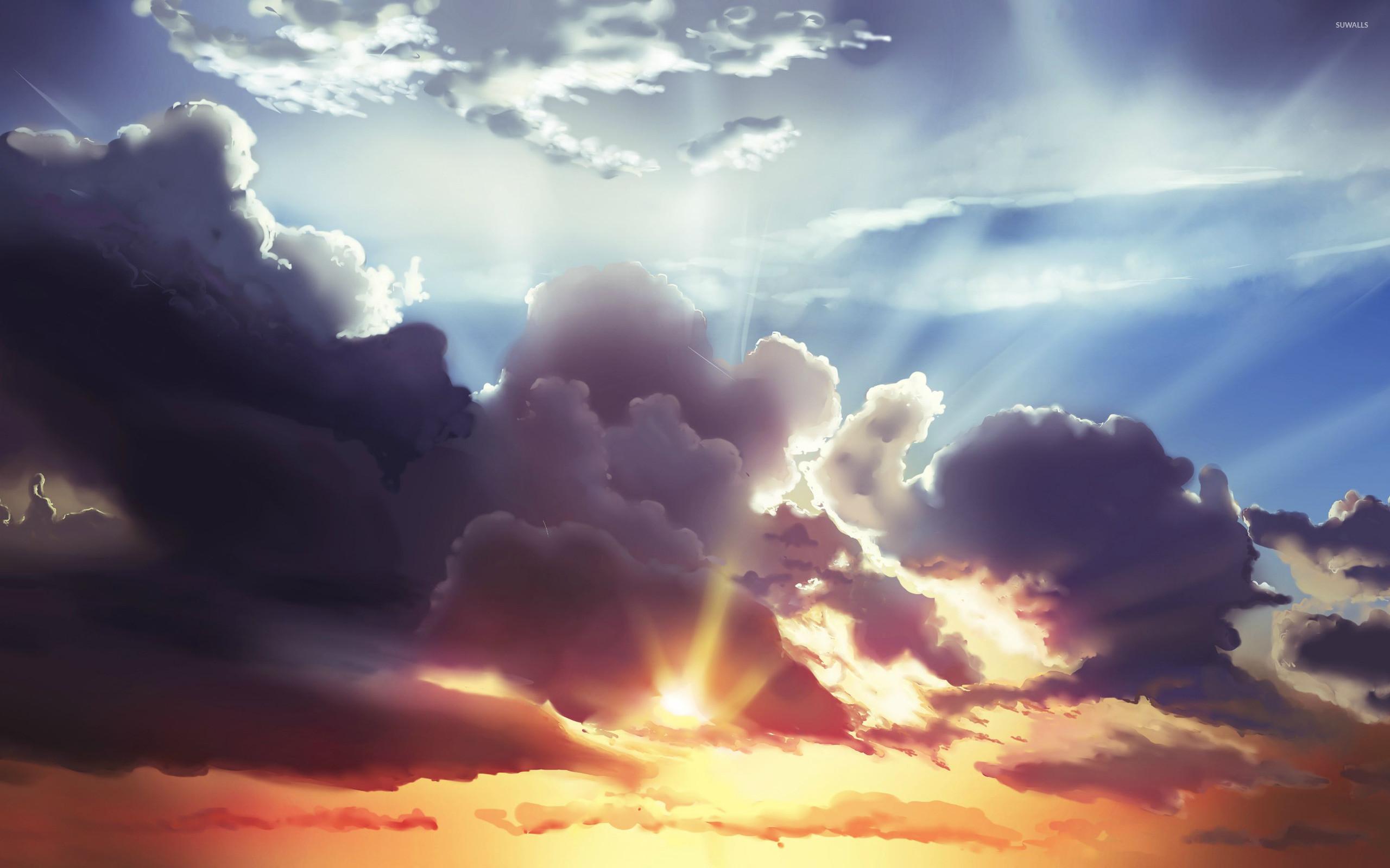 HD Cloudy Sky Background | PixelsTalk.Net