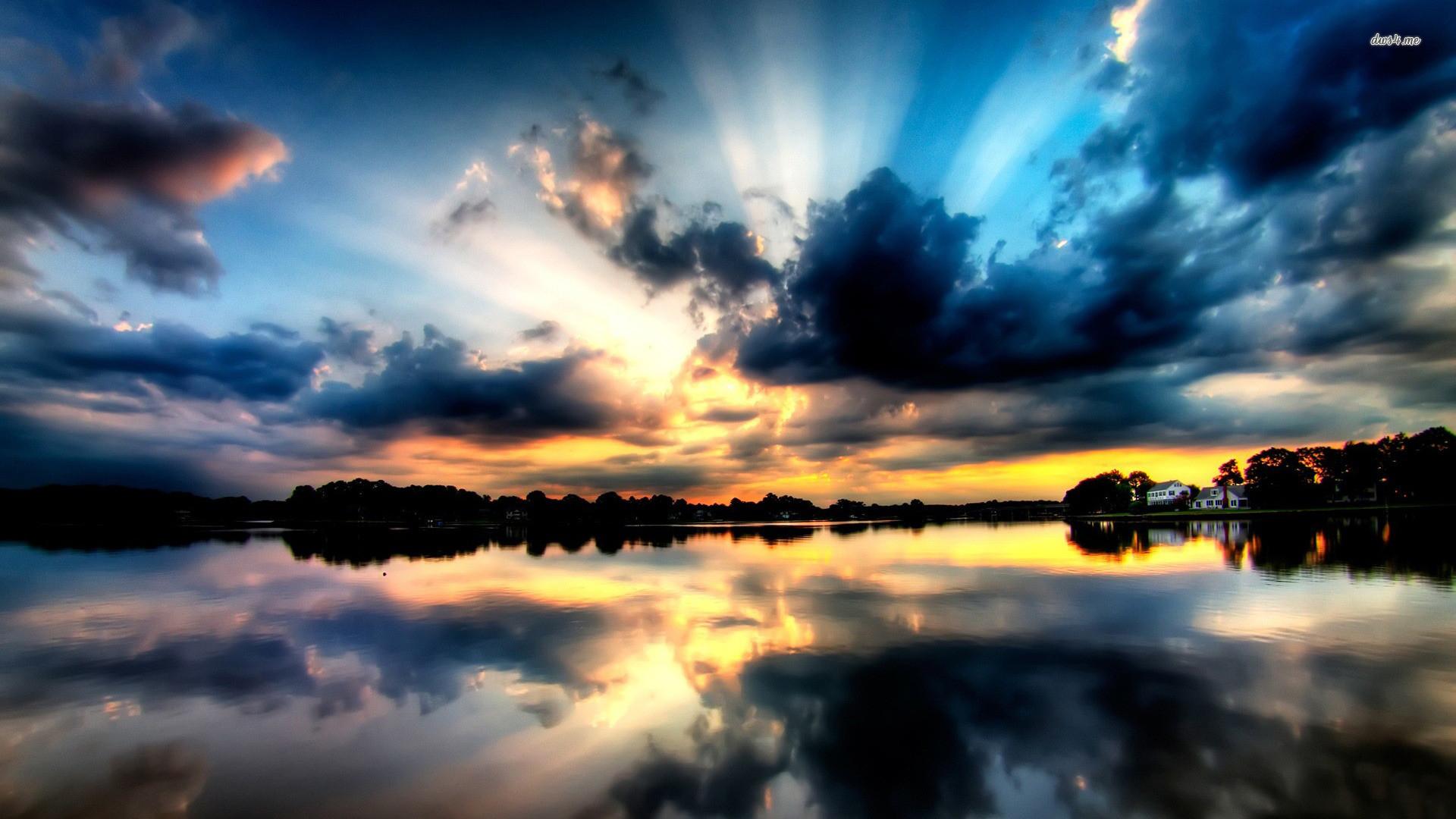 <b>Cloudy</b> Dark <b>Sky HD desktop wallpaper