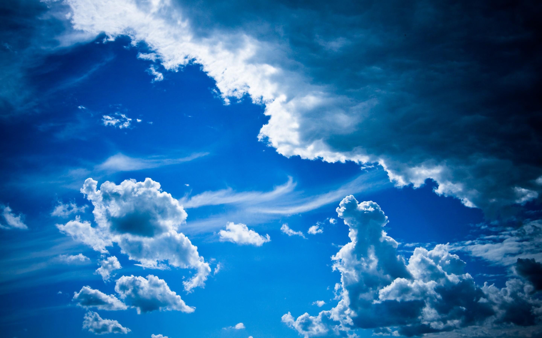 Blue Cloudy Sky Wallpaper 4967