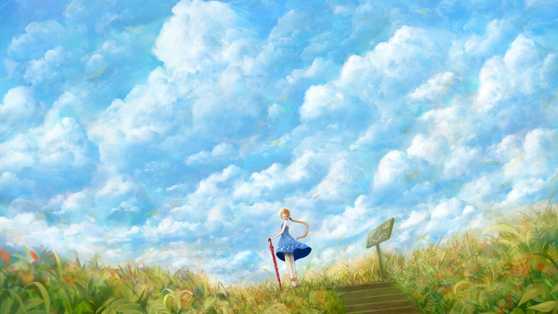 … Cloudy White Sky HD Wallpaper ID55958