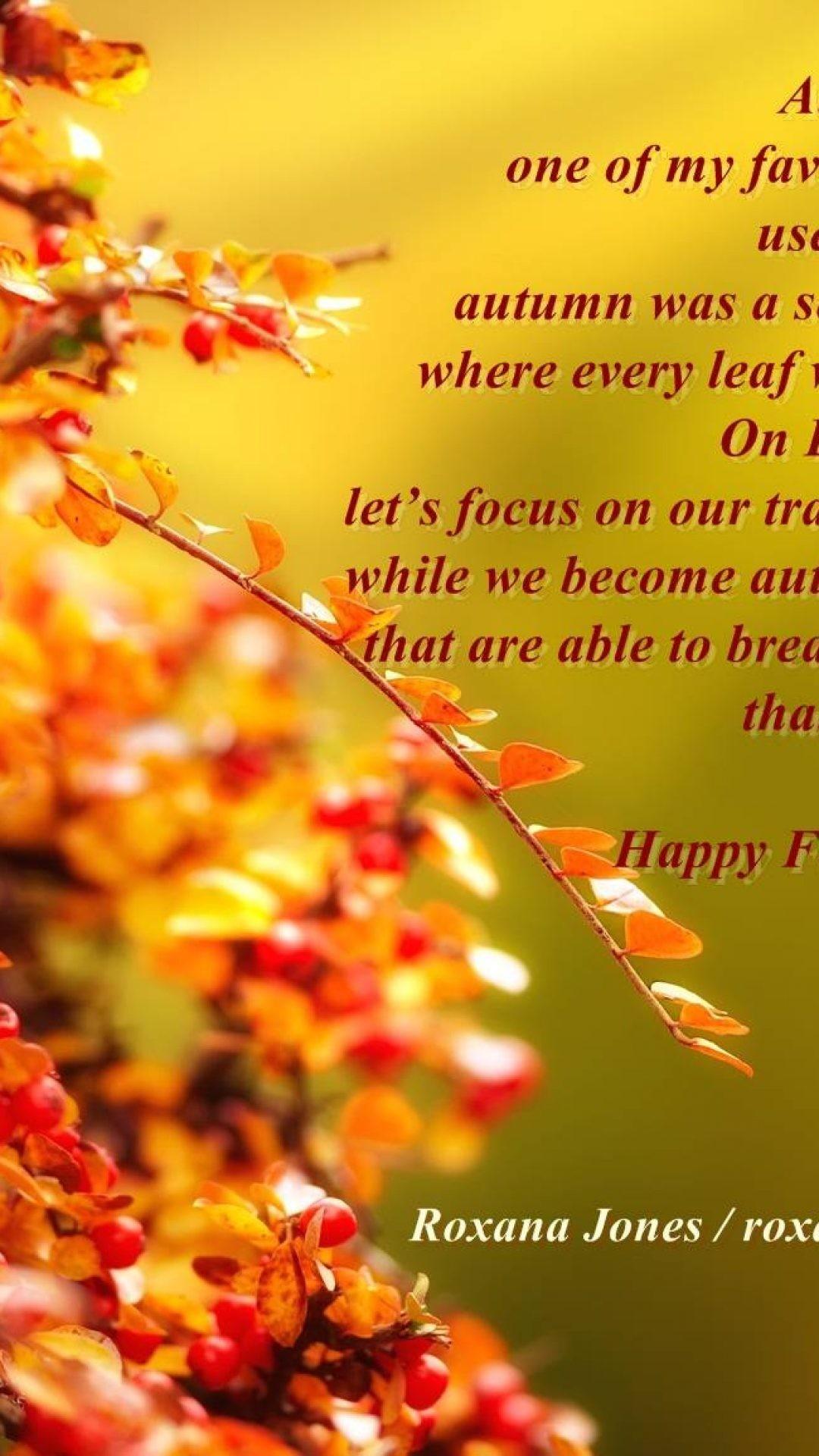 inspirational autumn wallpaper