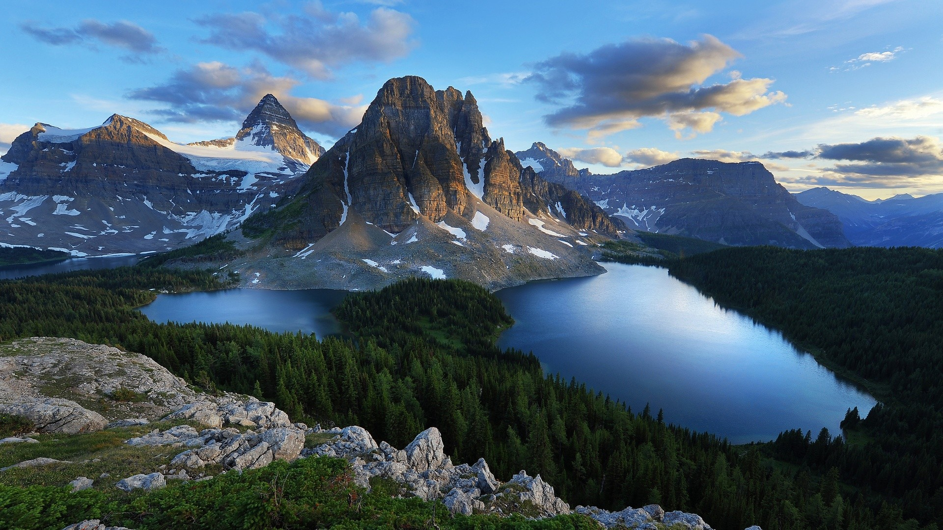 HD Wallpaper Mountain and Lakes We would like travel here, until  we can afford