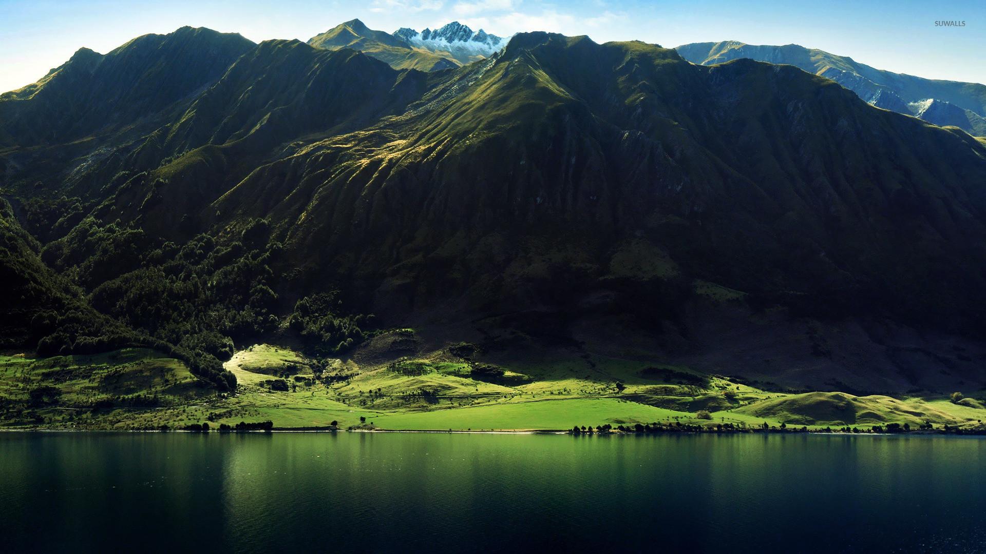 Mountain lake wallpaper – Nature wallpapers – #15886