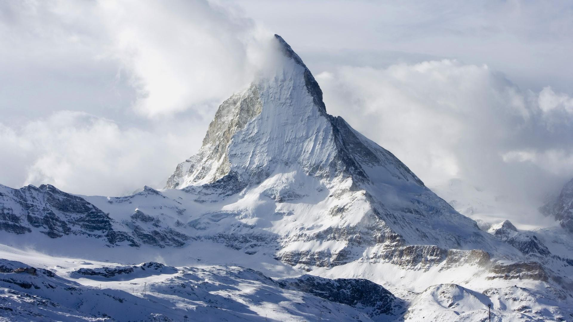 Mountain Peaks Wallpaper HD