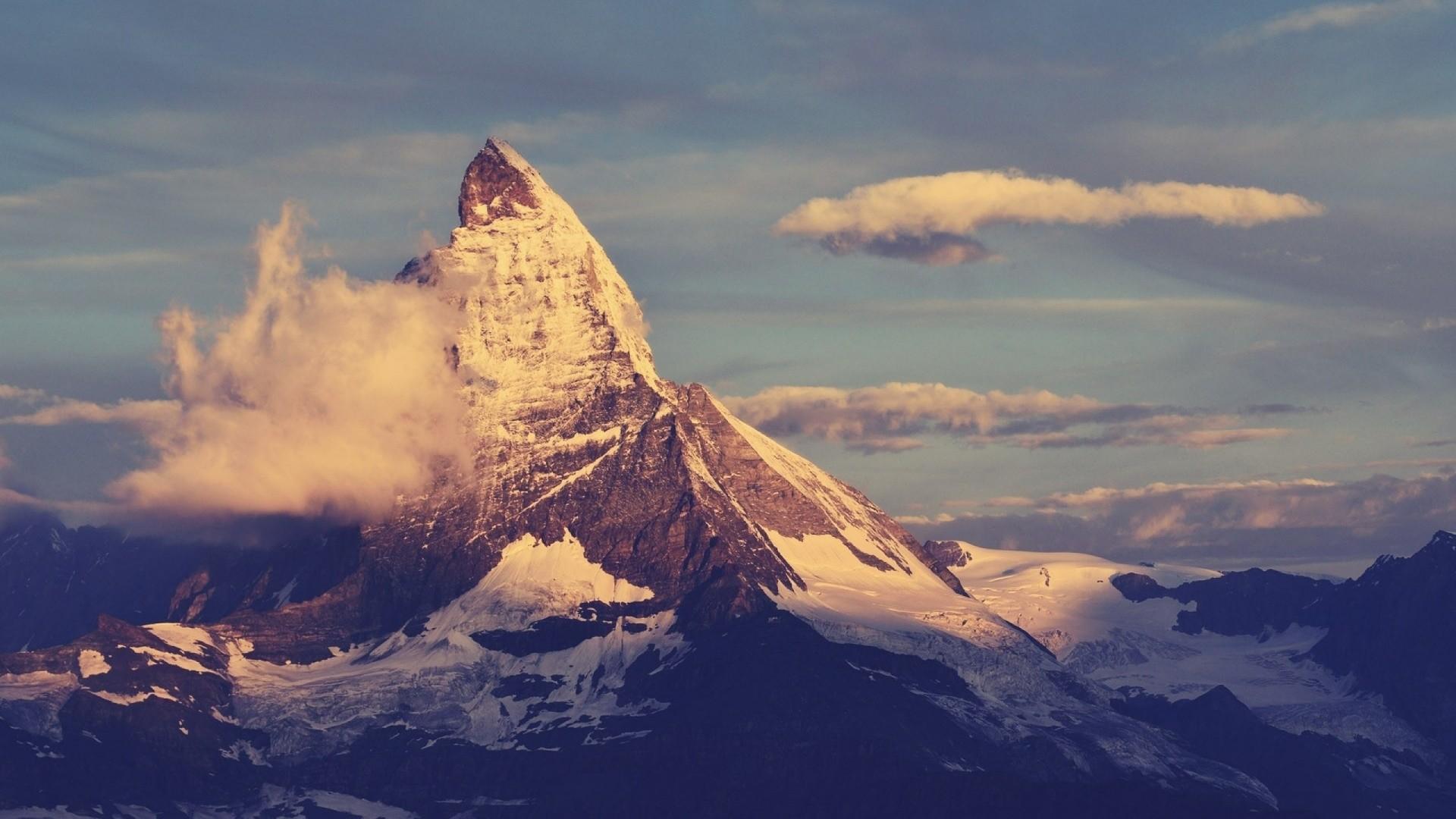 Matterhorn Mountain Peak. How to set wallpaper on your desktop?  Click the download link from above and set the wallpaper on the desktop  from your …