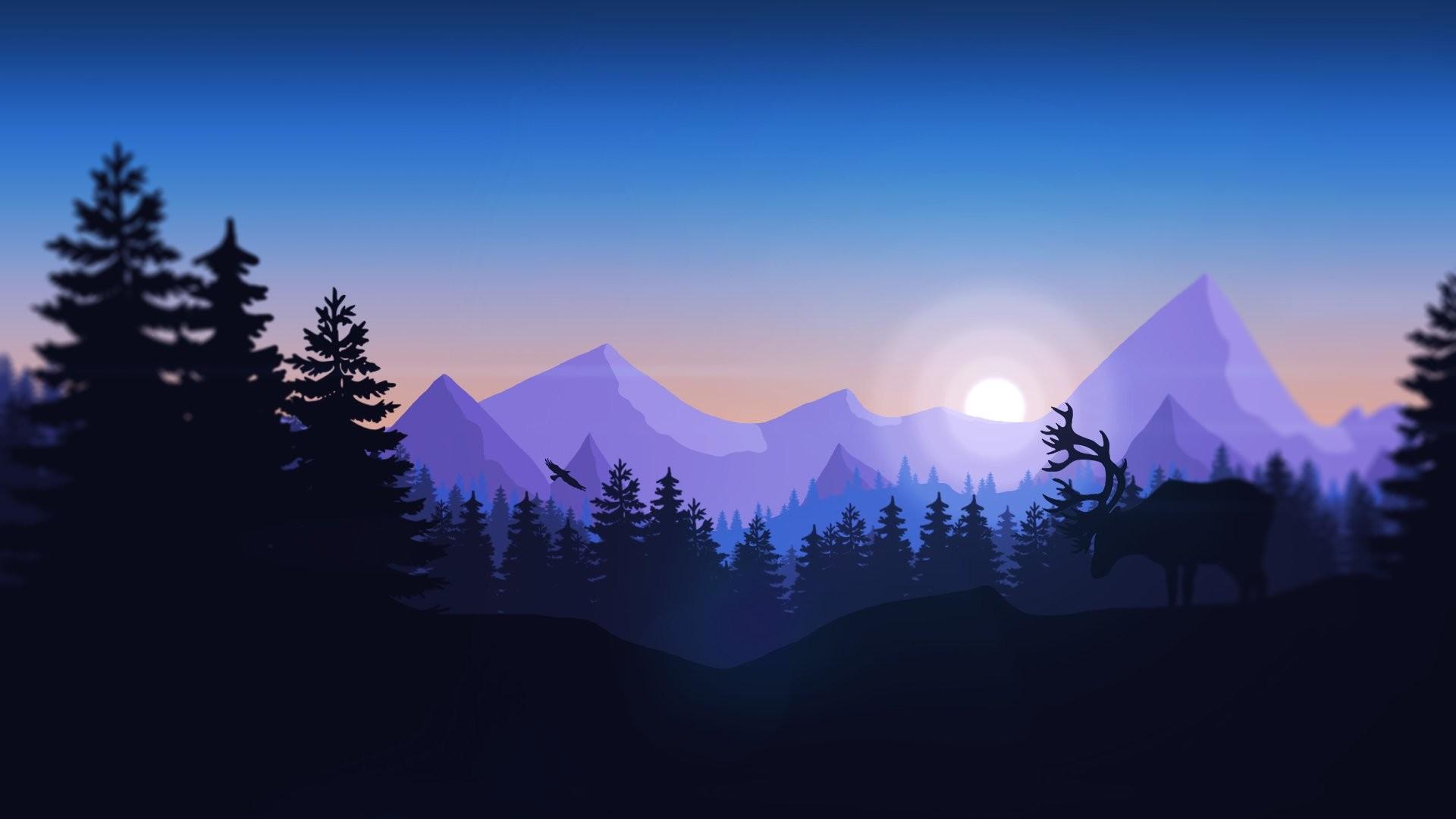 Artistic – Mountain Wallpaper
