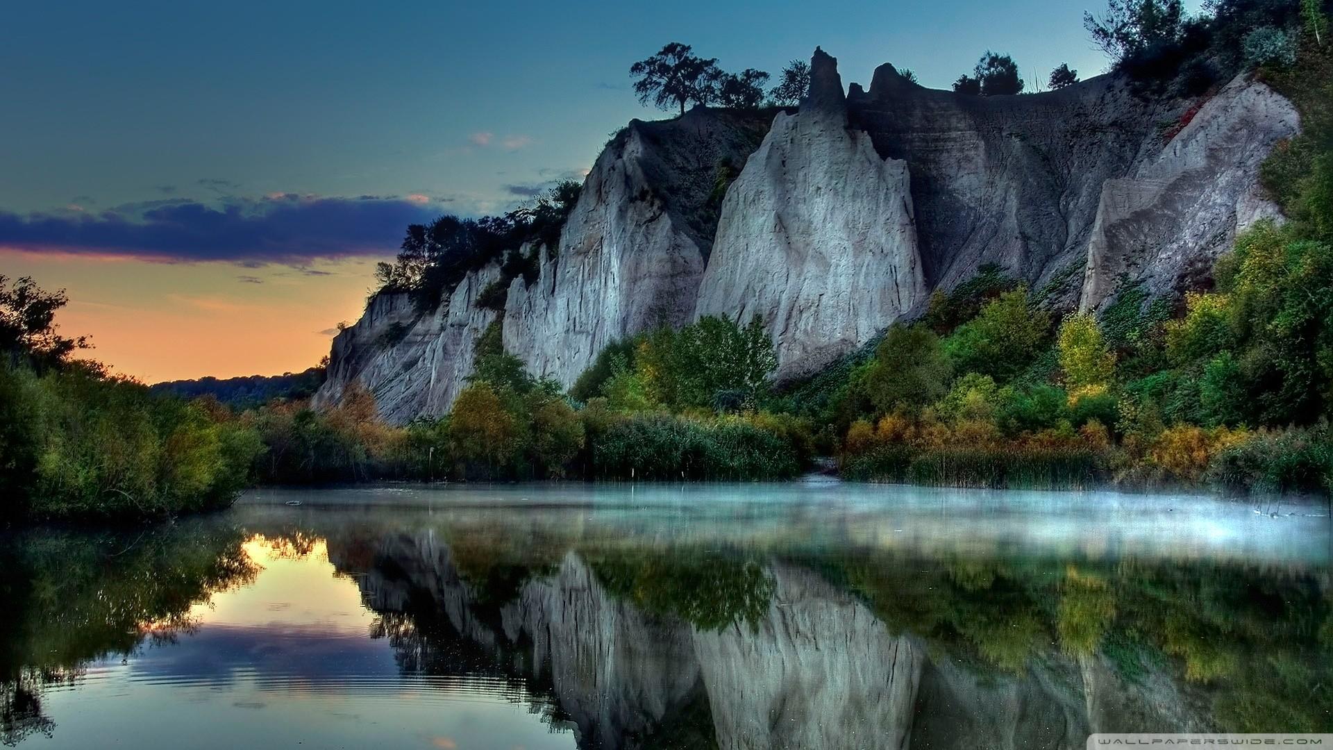 Lake Wallpaper HD. 1920×1080