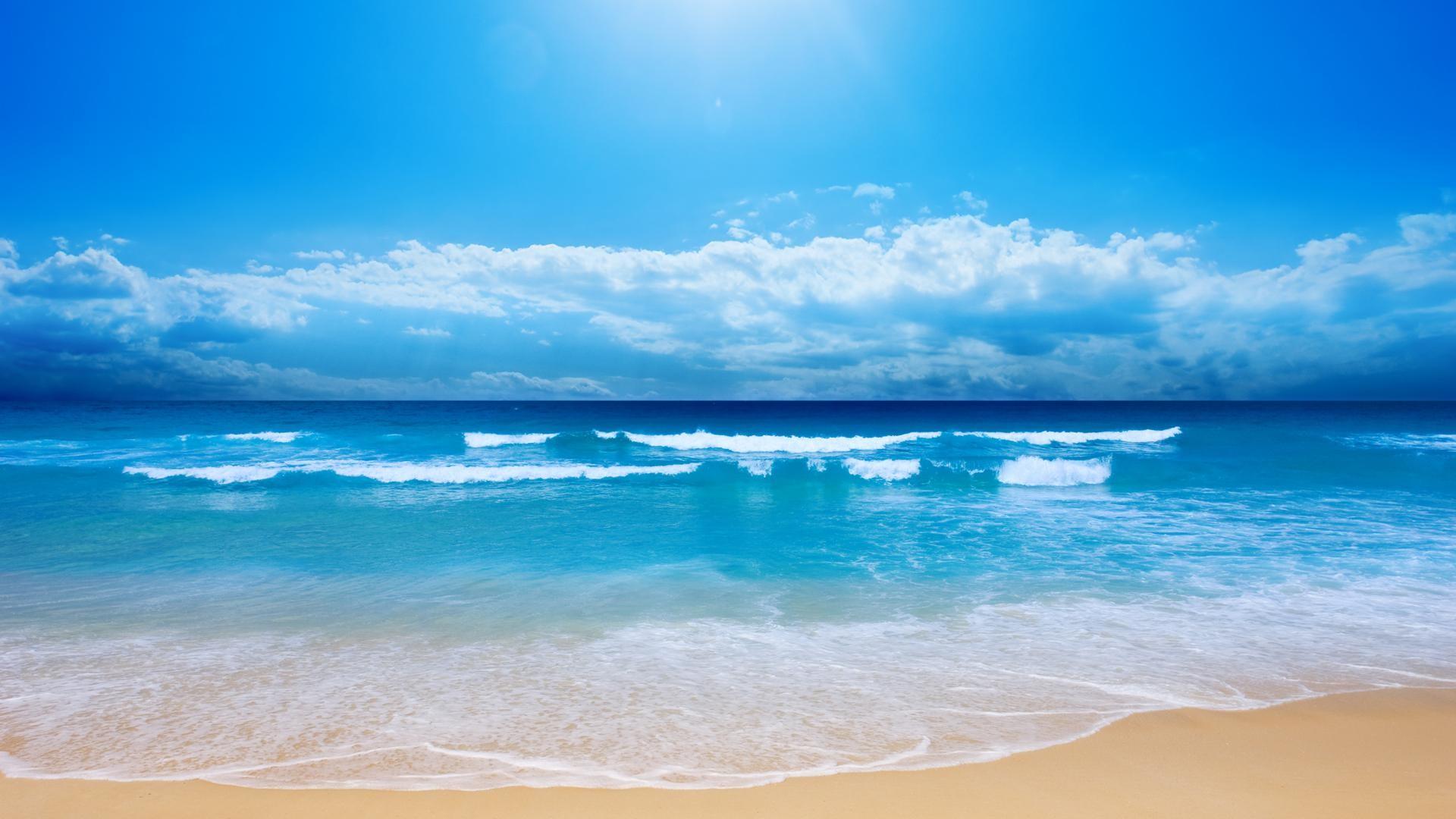 ocean, sun, sunshine, water, clouds, wow