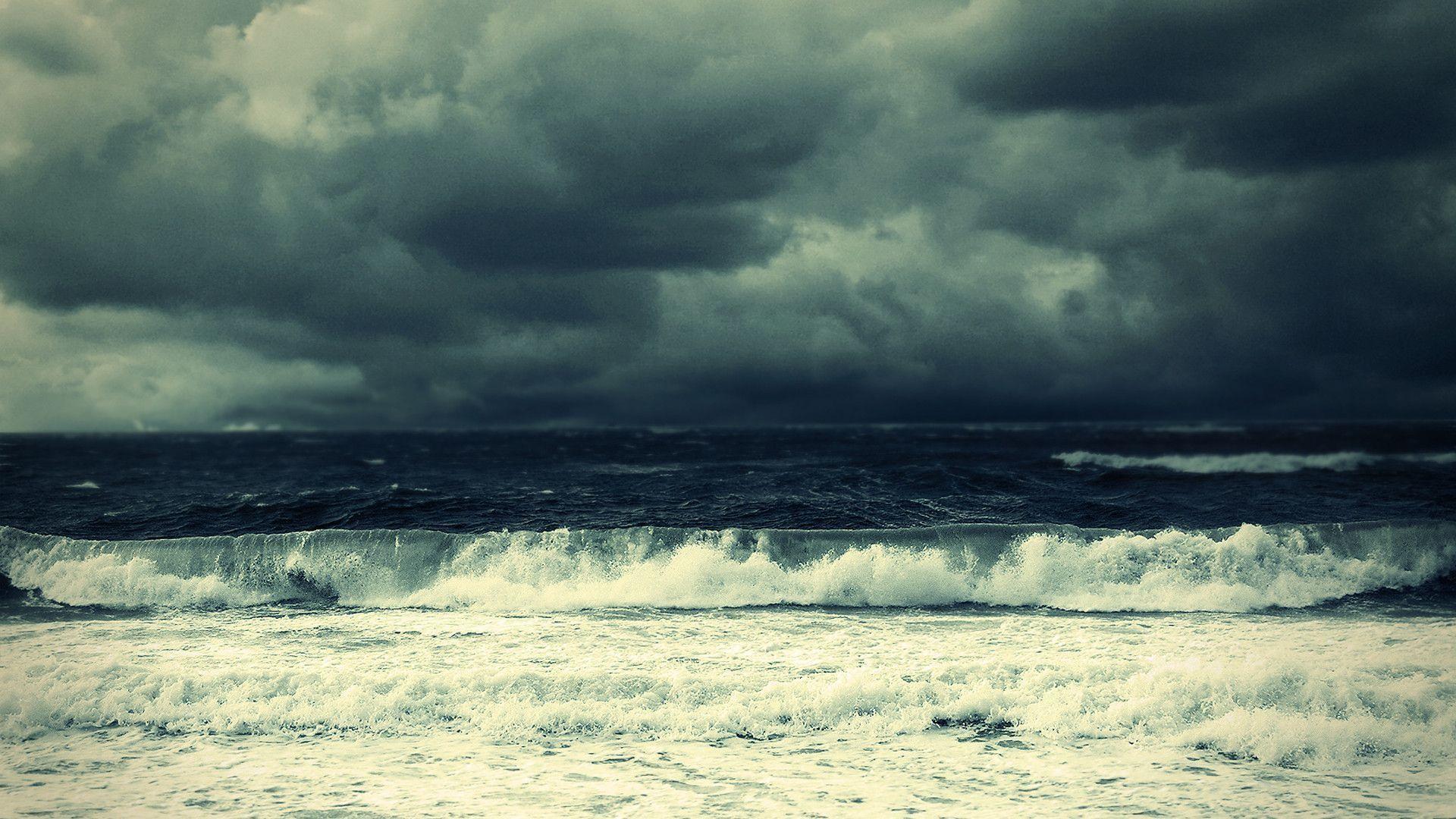 Download Stormy Ocean Wallpaper   Wallpoper #251090