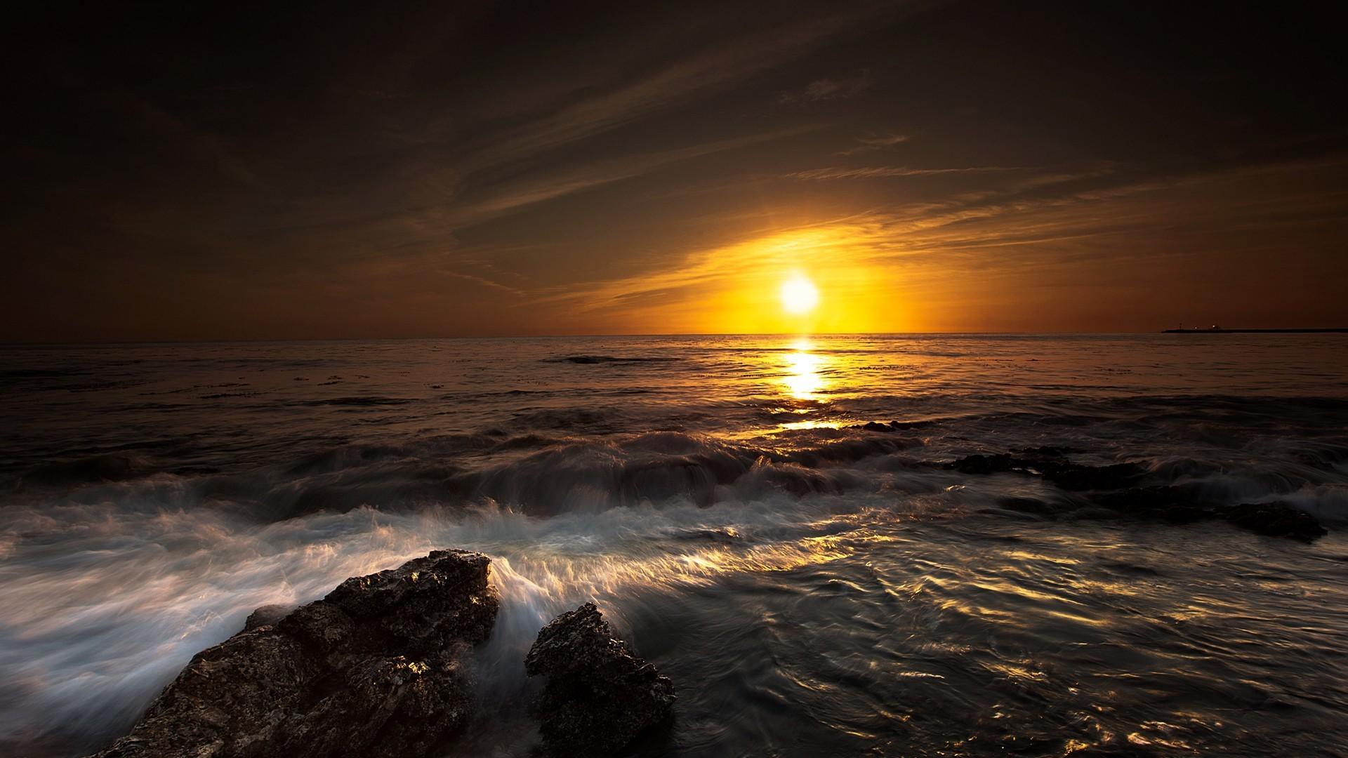 Ocean Sunset wallpaper – 905192