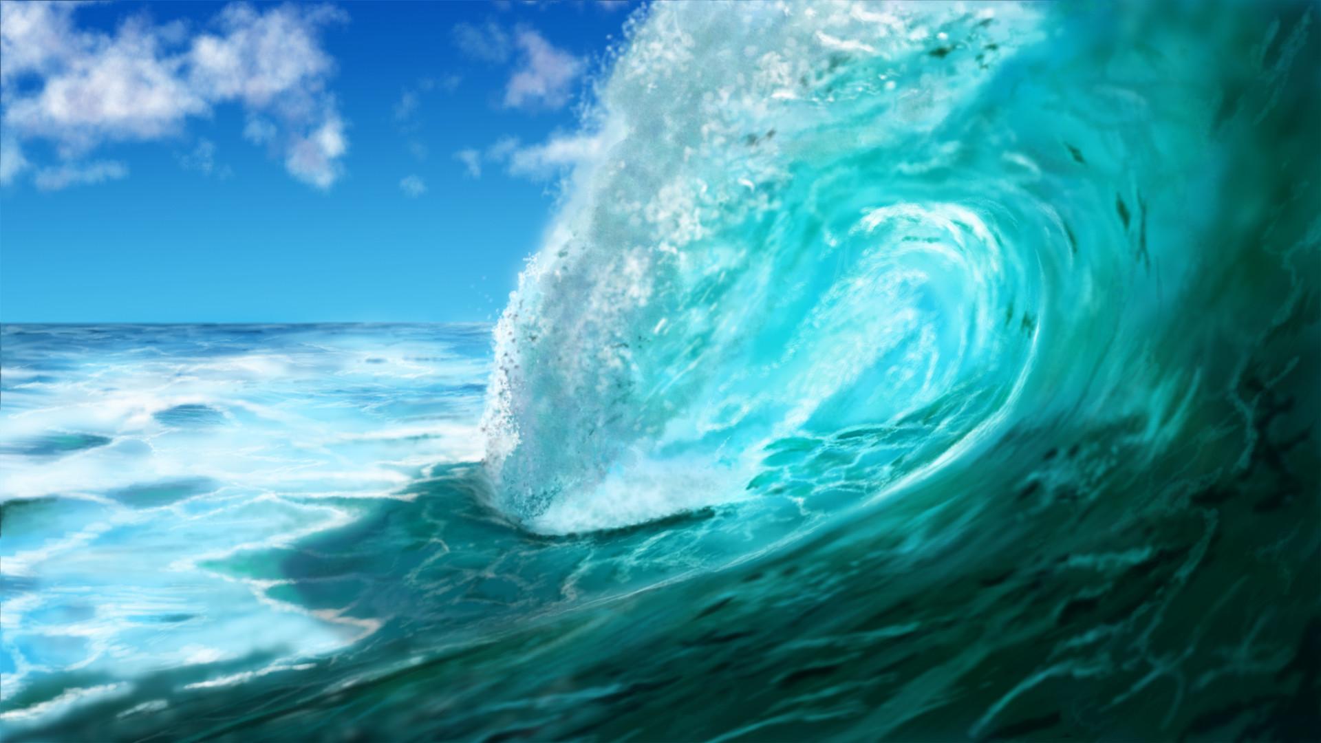 GJM.518 Ocean Wave, Ocean Wave Wallpapers