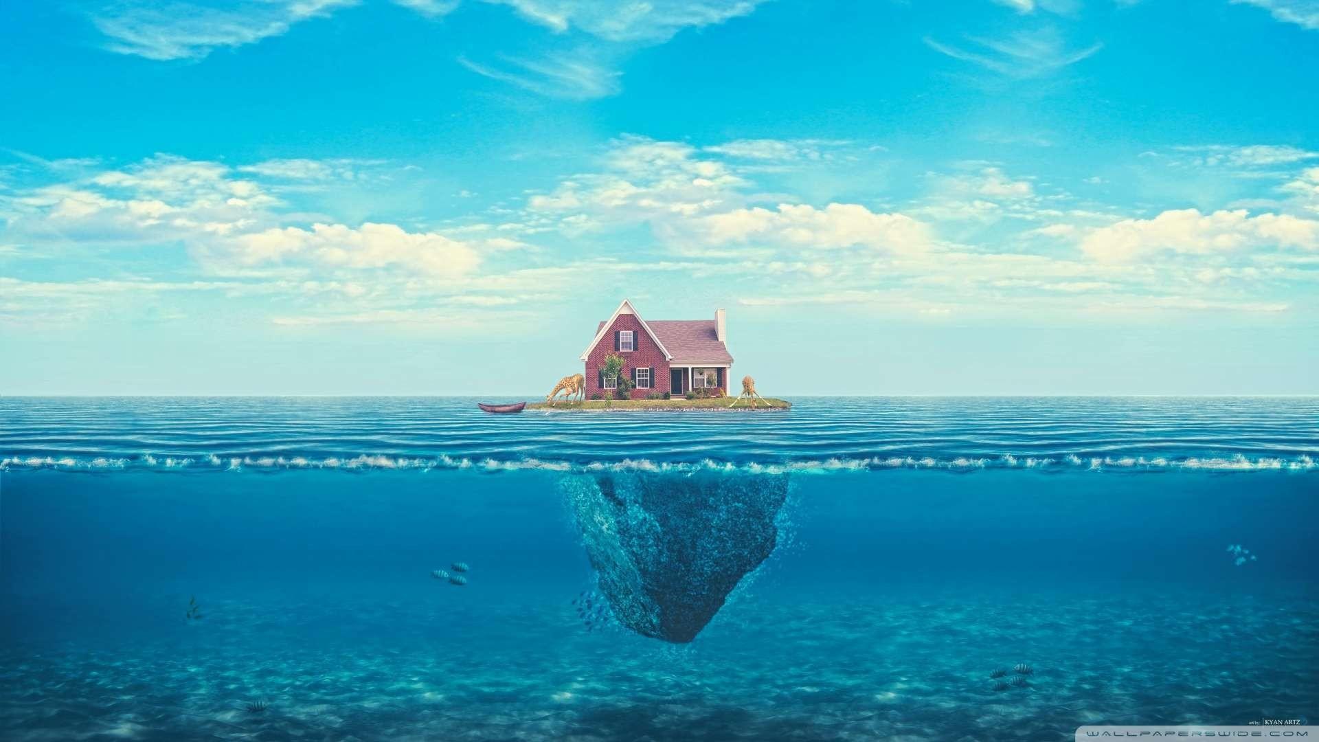 Wallpaper: House On The Ocean Wallpaper 1080p HD. Upload at December .