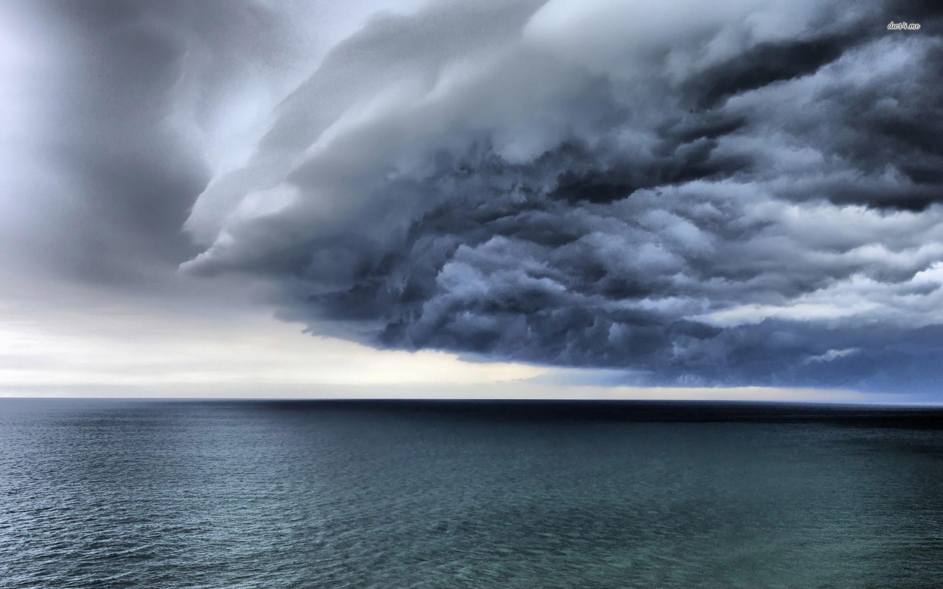 Ocean Storm Clouds