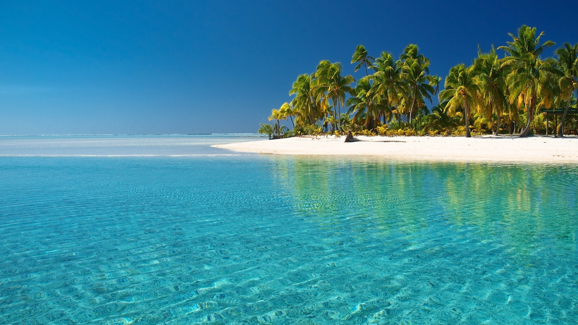 wallpapers | above is Crystal Clear Beach Wallpaper in Resolution  .