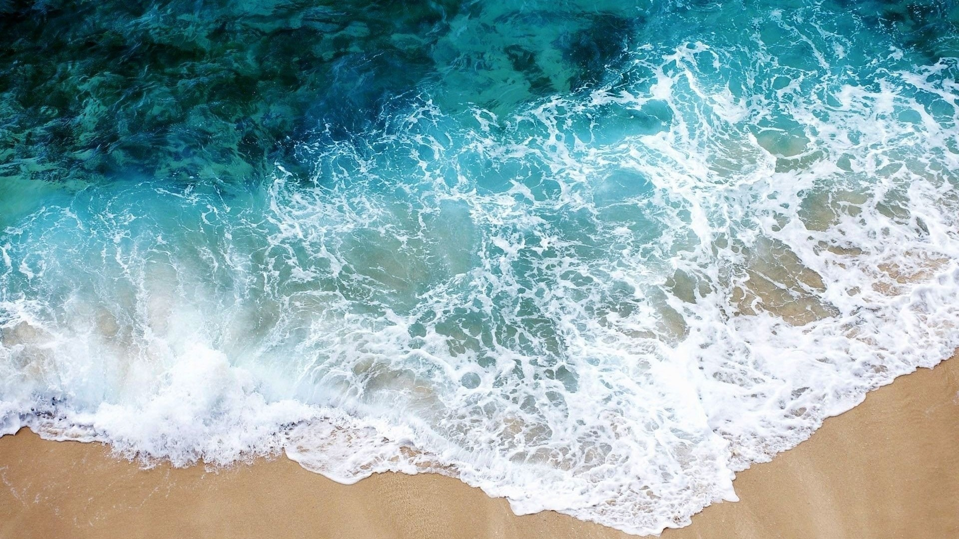 Wallpaper beach, sea, sand, water, transparent, purity, freshness,